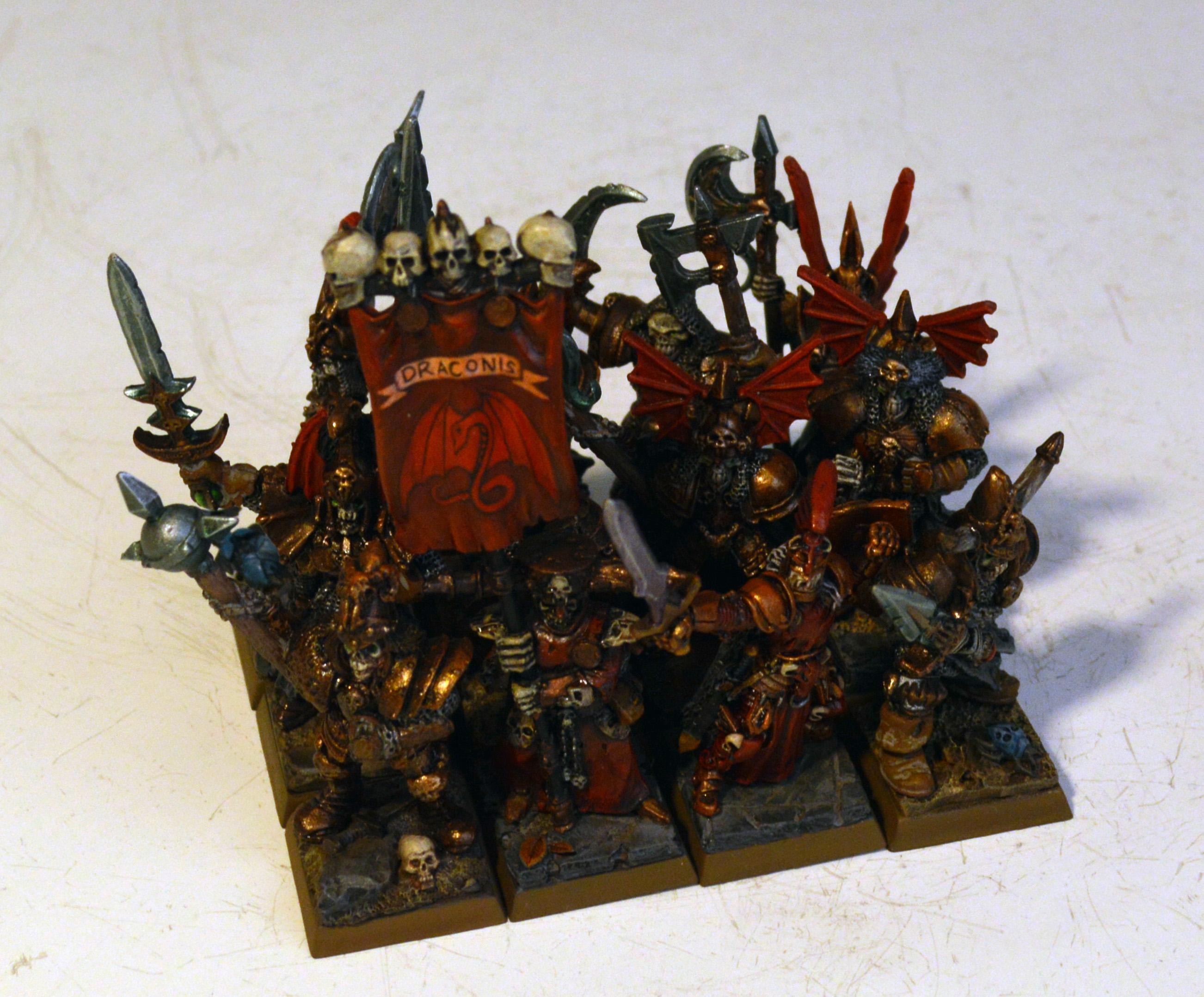 Grave Guard, Vampire, Wight