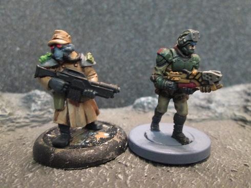 Corporate Marine, Mantic, Space Marines, Urban War, Viridian