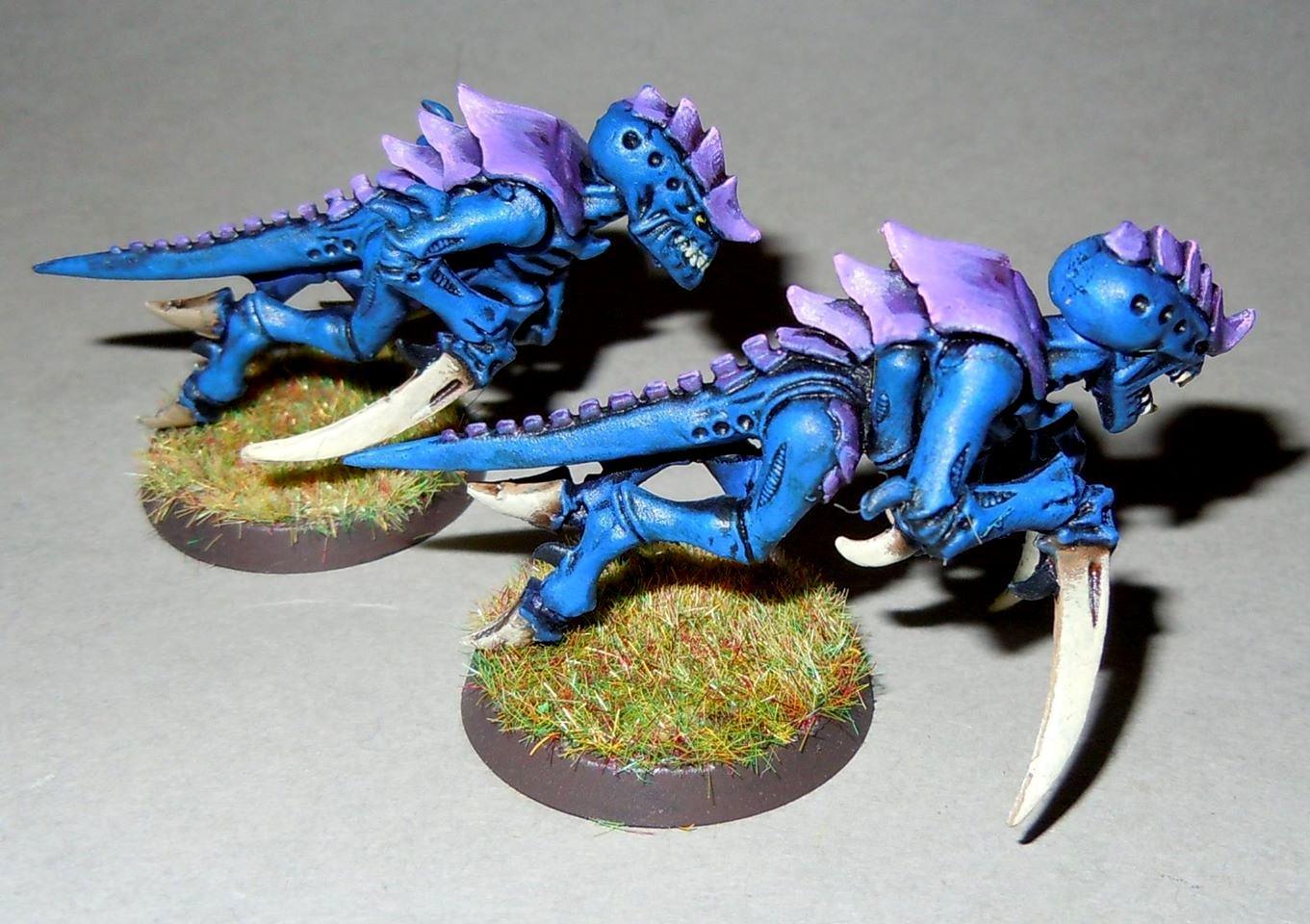 Blue, Tyranids, Hormagaunts