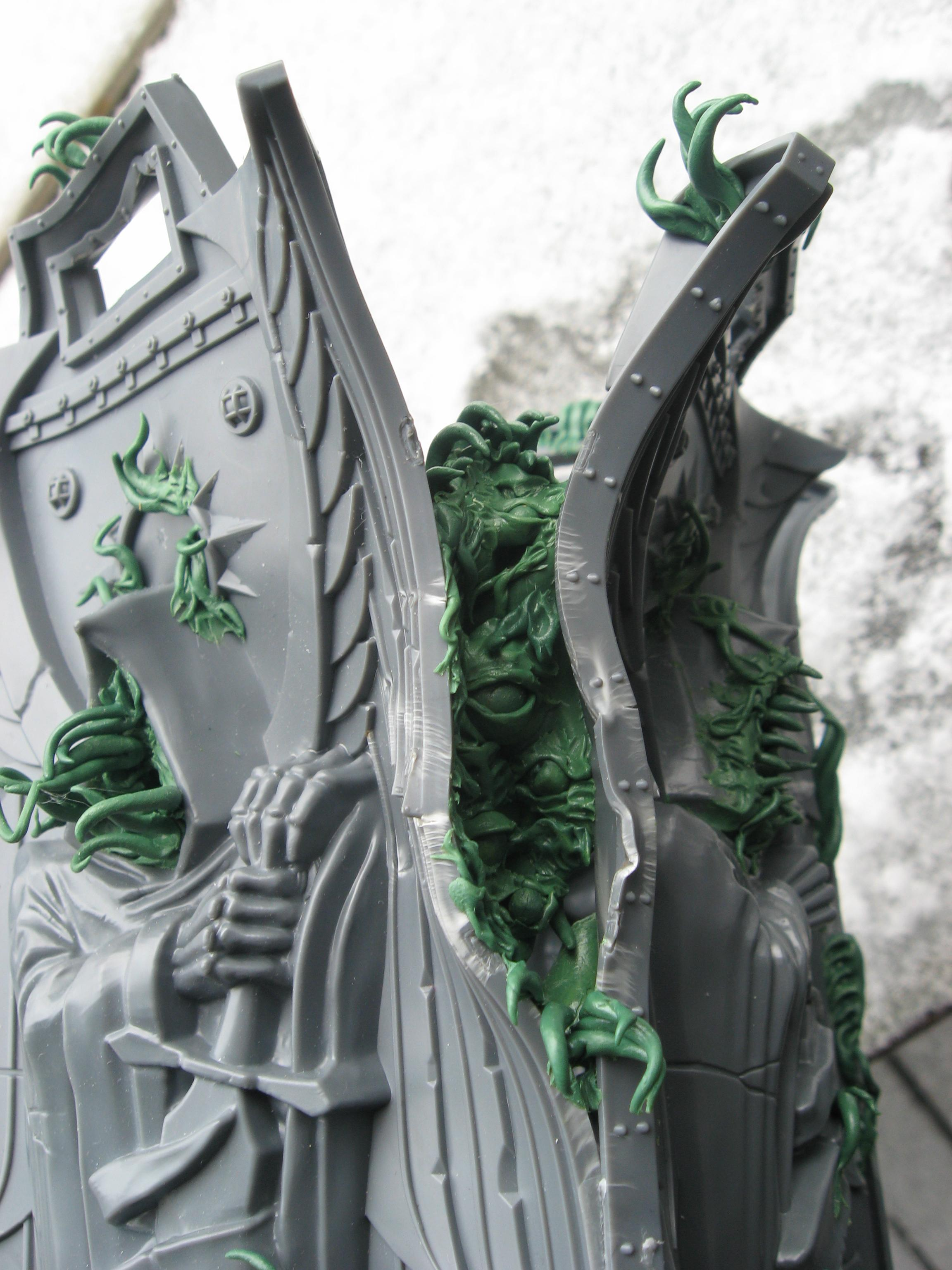 Chaos Daemons, Conversion, Fortress Of Redemption, Harrowed, Terrain