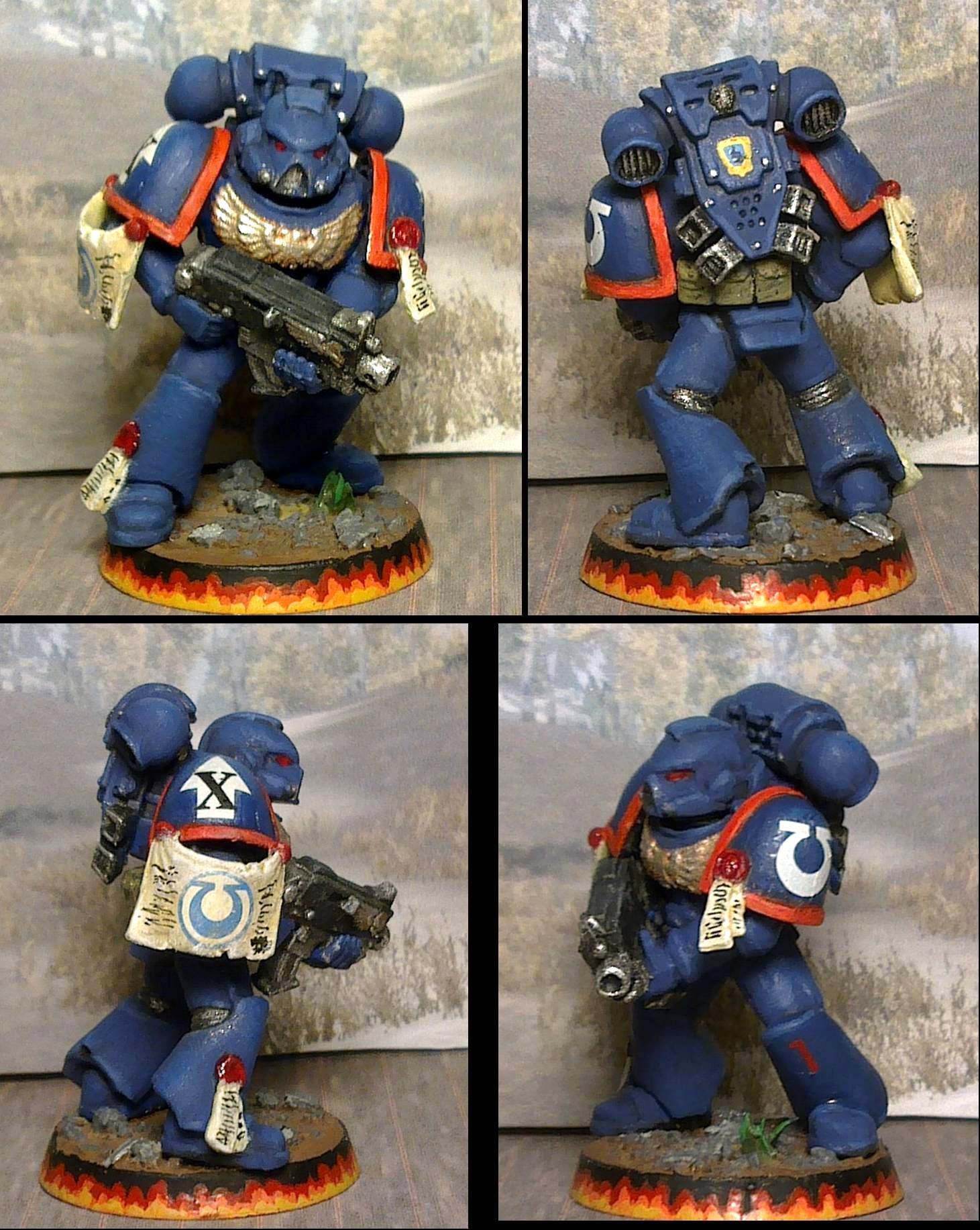 Space Marines, Tactical, Ultramarines, Warhammer 40,000