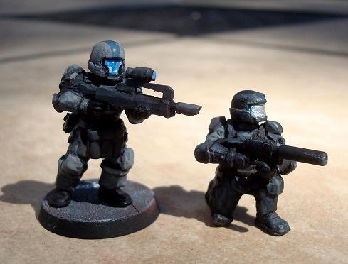 Halo, Odst, Scouts, Storm Troopers, Work In Progress