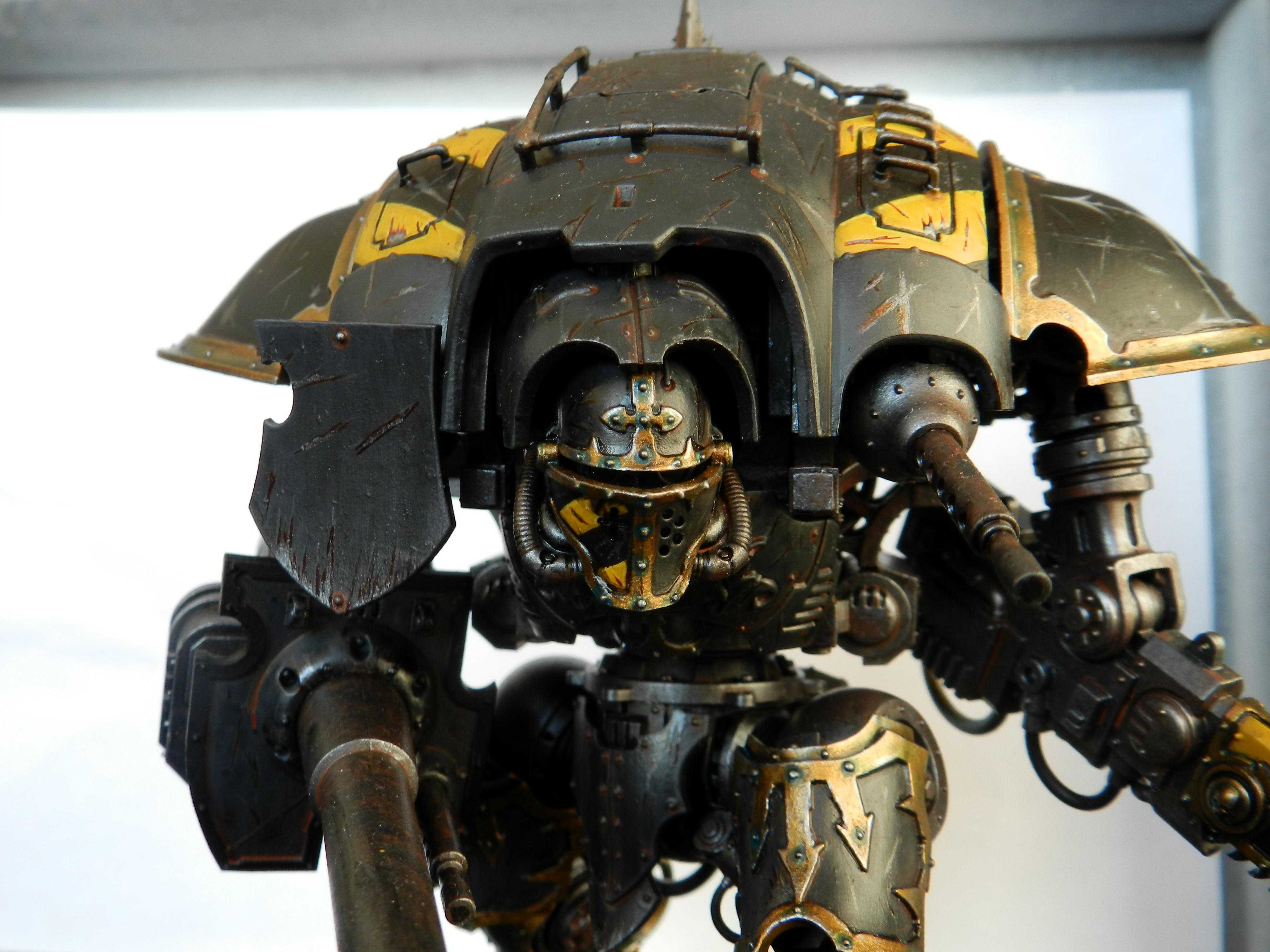 Chaos, Chaos Space Marines, Imperial Knight, Iron Warriors, Knights, Renegate