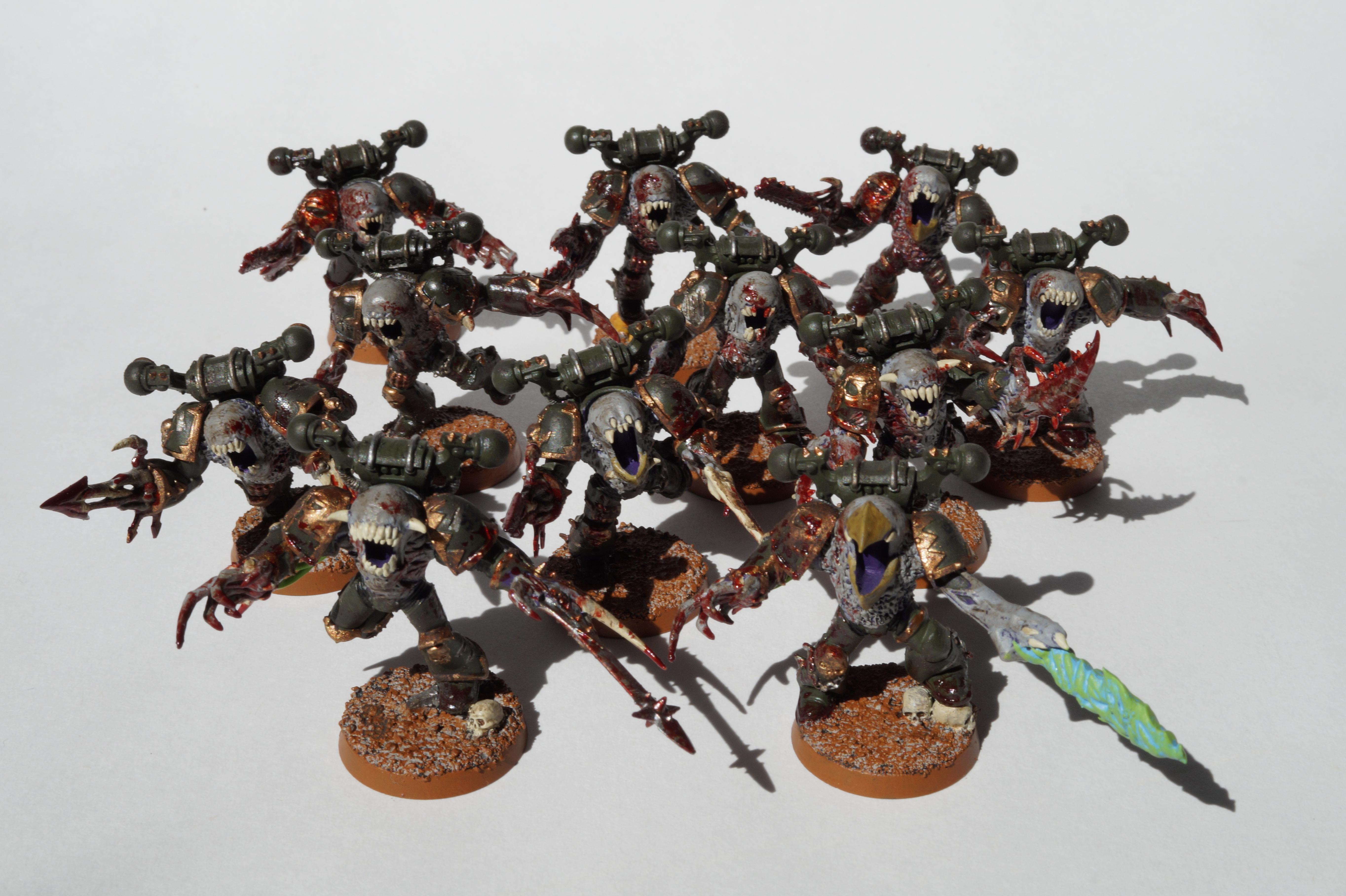 Chaos, Mutant, Space Marines