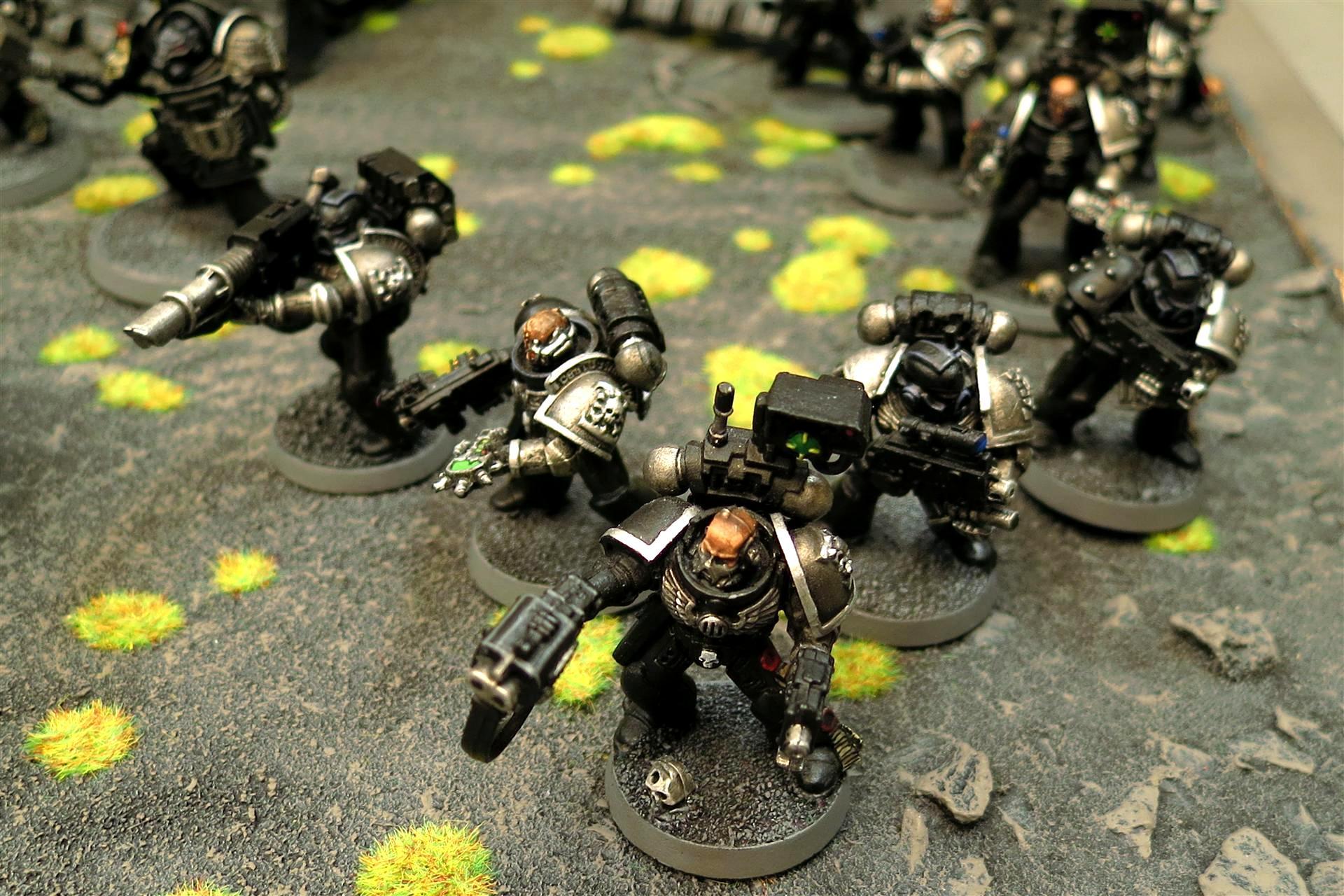 Alien Hunters, Auspex, Black Shields, Combat Squad, Deathwatch, Deathwatch Killteam, Inquisition, Lascannon, Ordos Xenos, Storm Bolter, Stormbolter