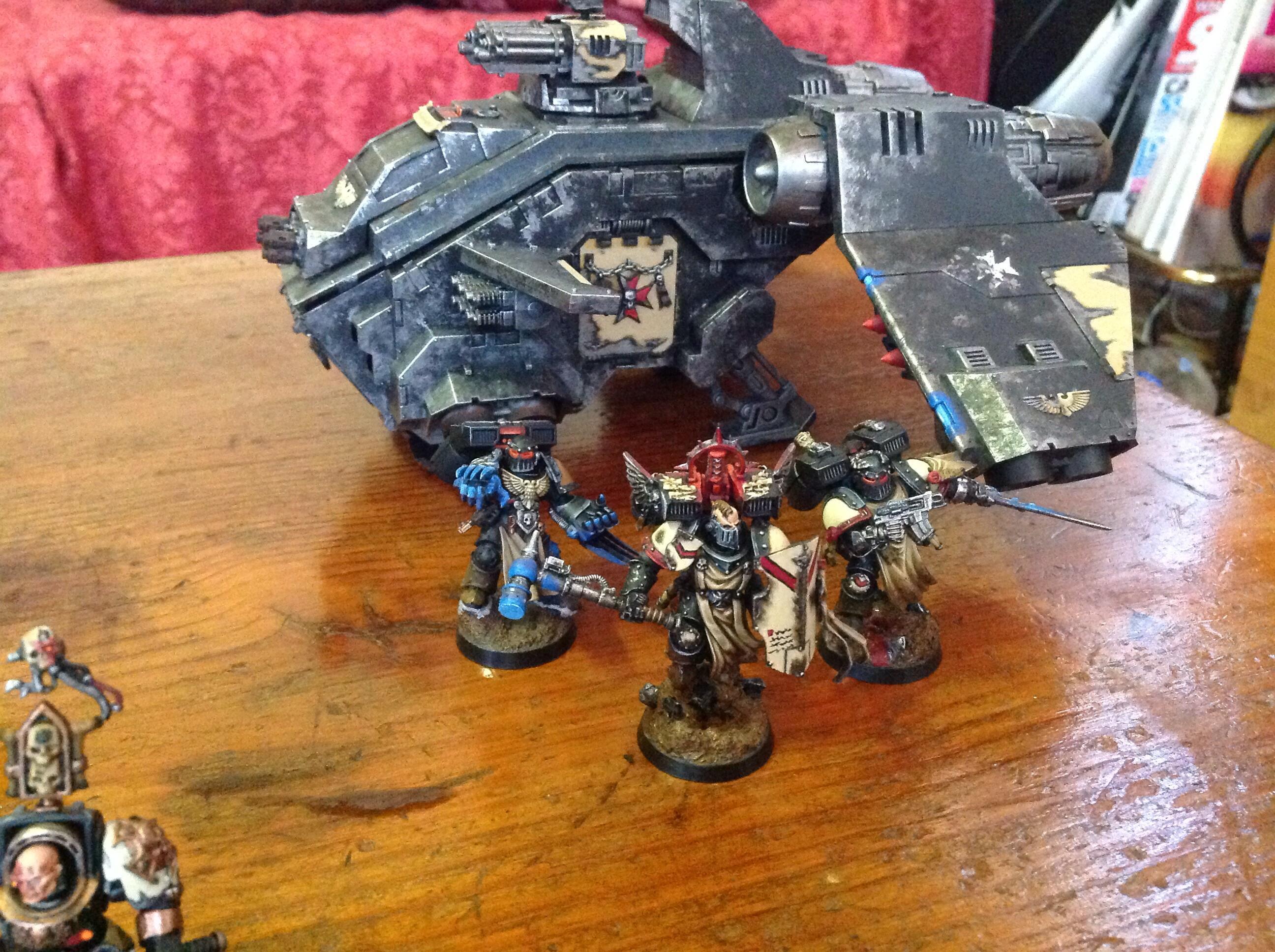 Army, Black Templars, Dreadnought, Space Marines, Storm Raven, Stormraven, Vanguard, Warhammer 40,000