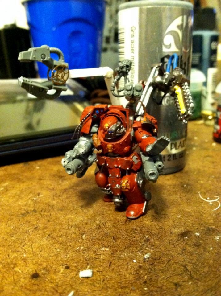 Conversion, Custom, Master Of The Forge, Techmarine, Terminator Armor