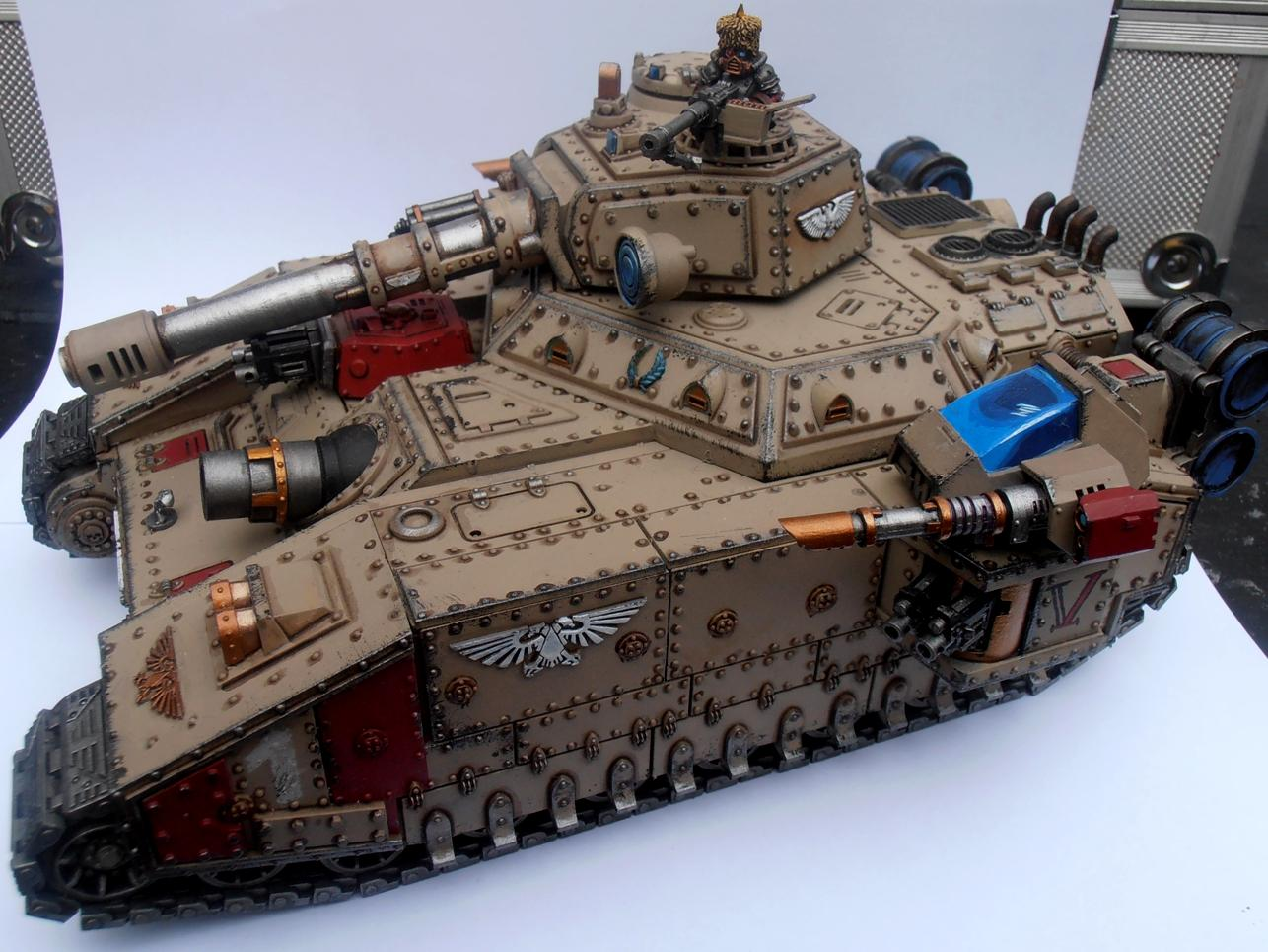 Baneblade, Guard, Imperial, Imperial Guard, Tank, Vostroyan