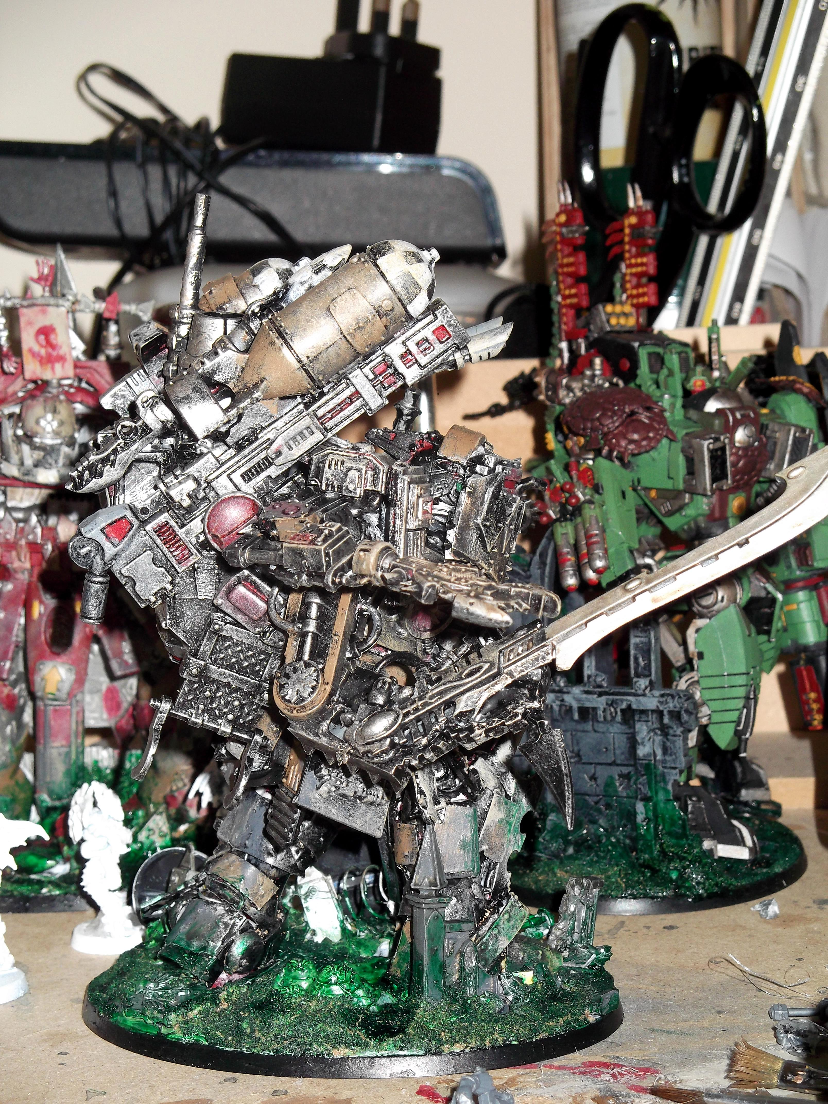 Bits, Boltgutz, Conversion, Dread Mob, Dreadnought, Lobba, Looted, Marine Abuse, Mega Dread, Meka Dread, Orks, Warhammer 40,000