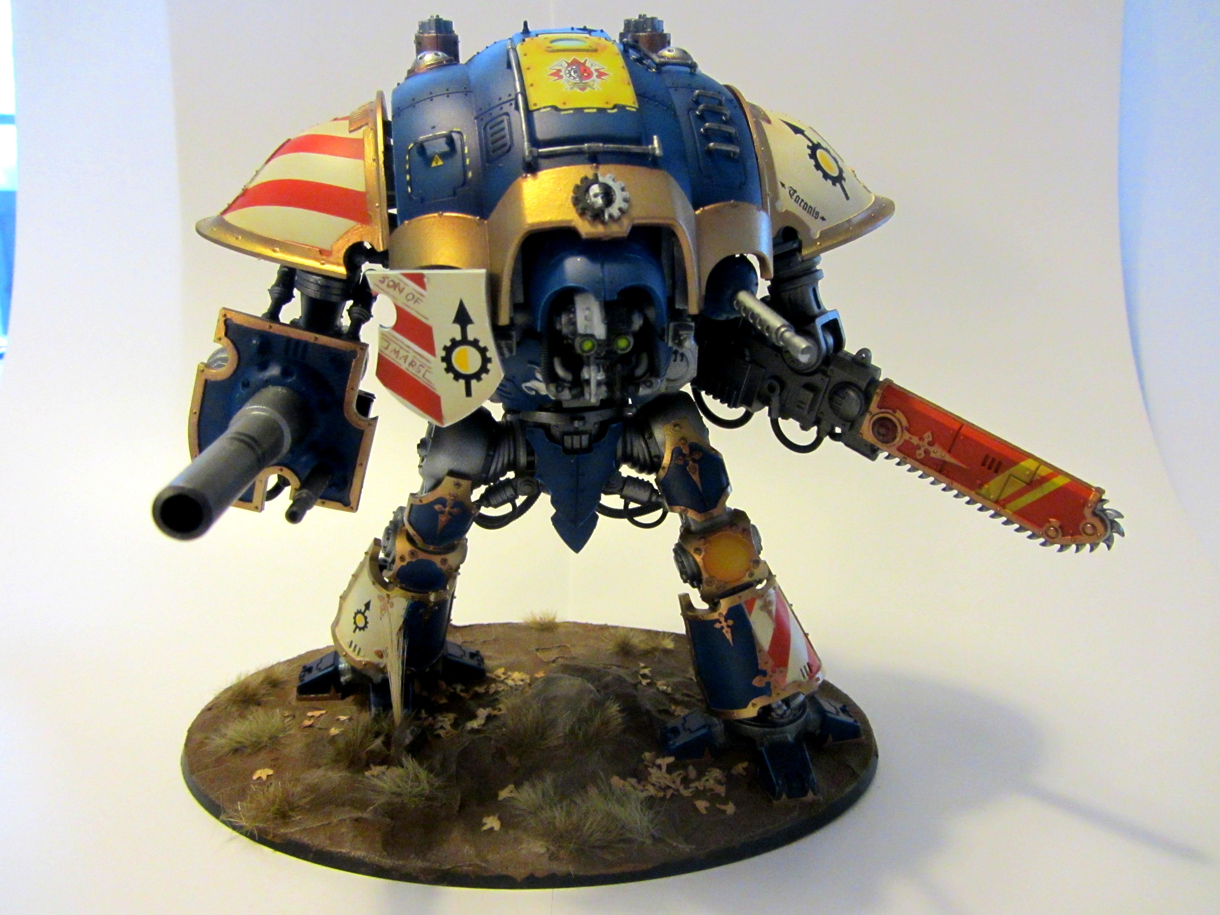 Airbrush, Games Workshop, Imperial Knight, Paladin
