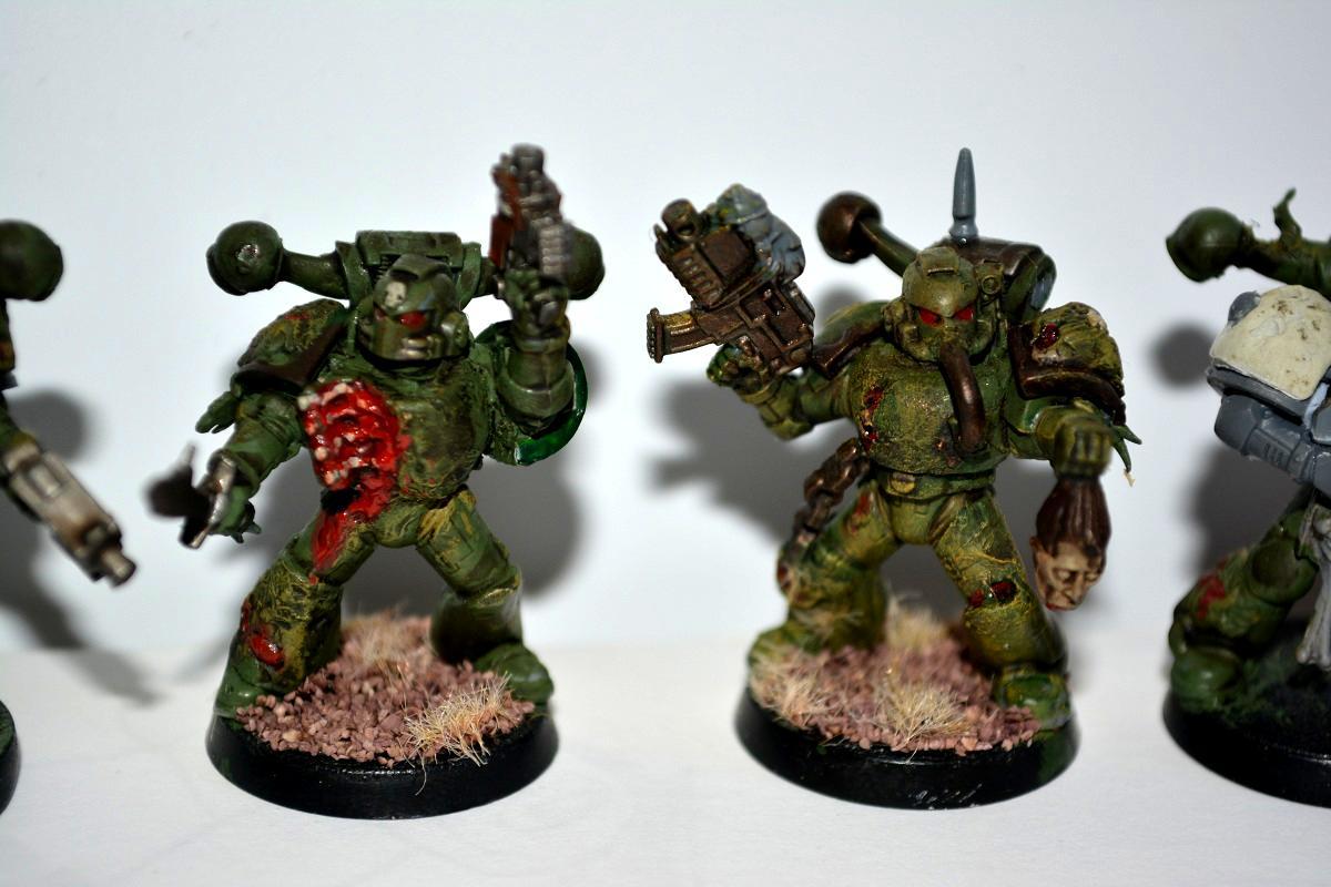 Painted Marines