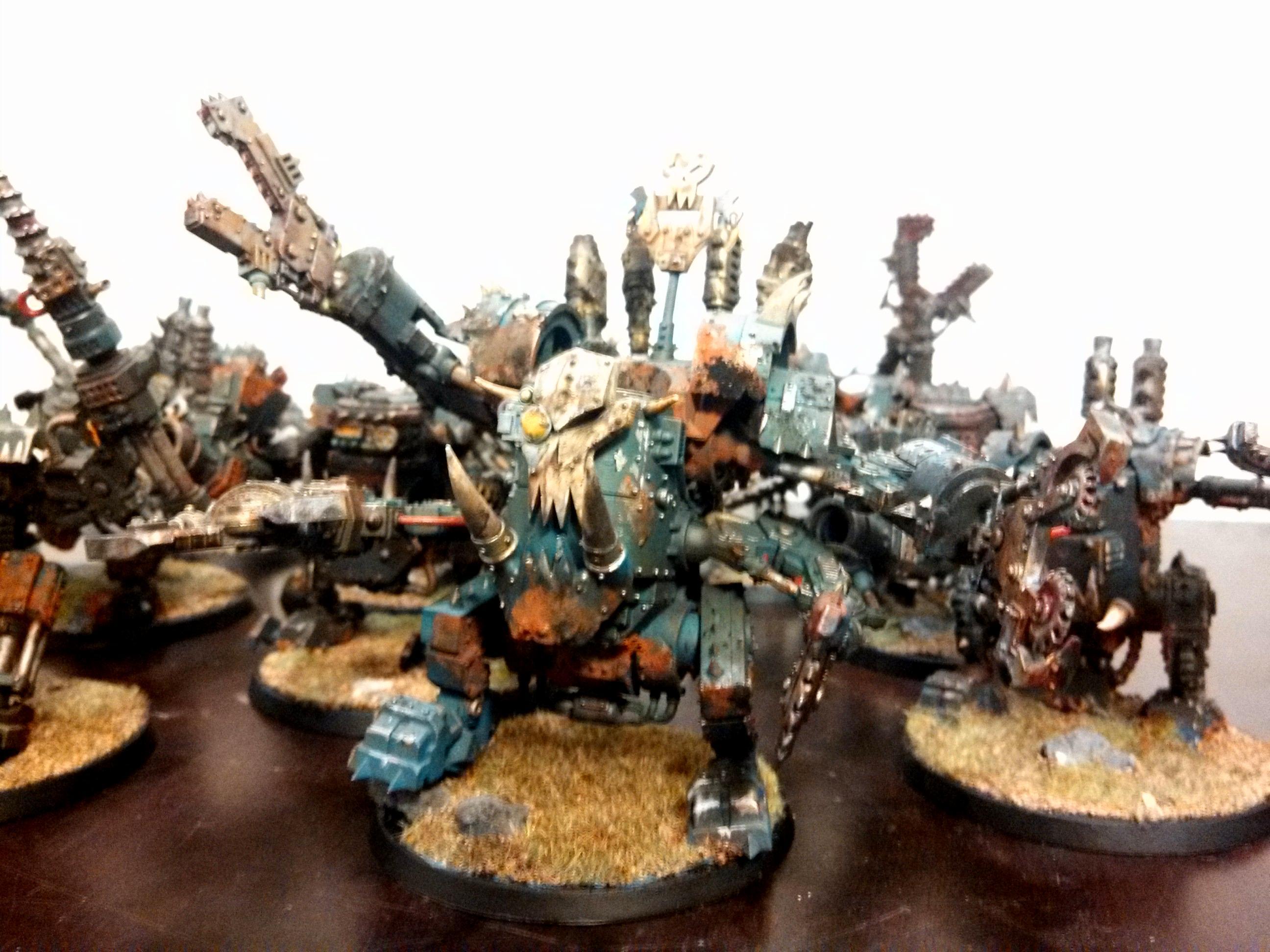 Deathskulls, Deff Dread, Killa Kan, Orks, Warhammer 40,000
