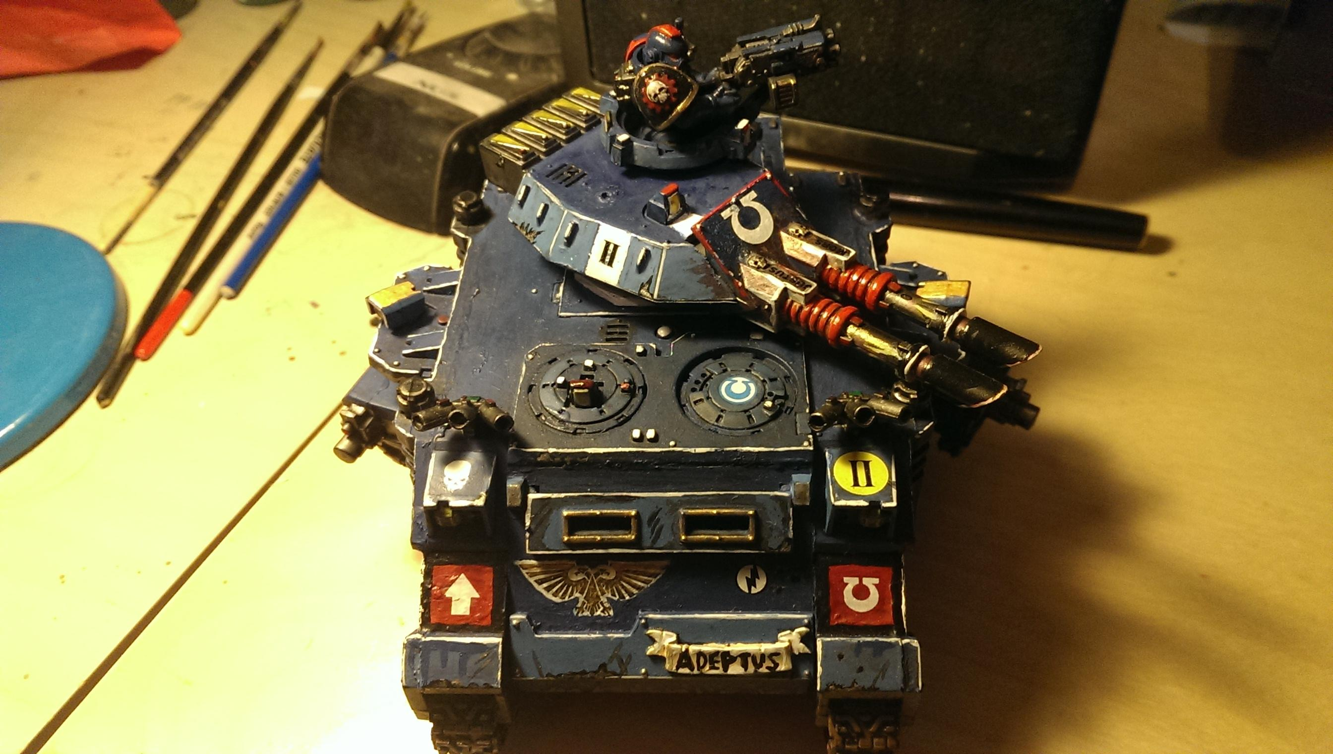 Death, Different, Grand, Heavy Support, Insignias, Macragge, Of, Symbolic, Tank, Ultramar, Vehicle