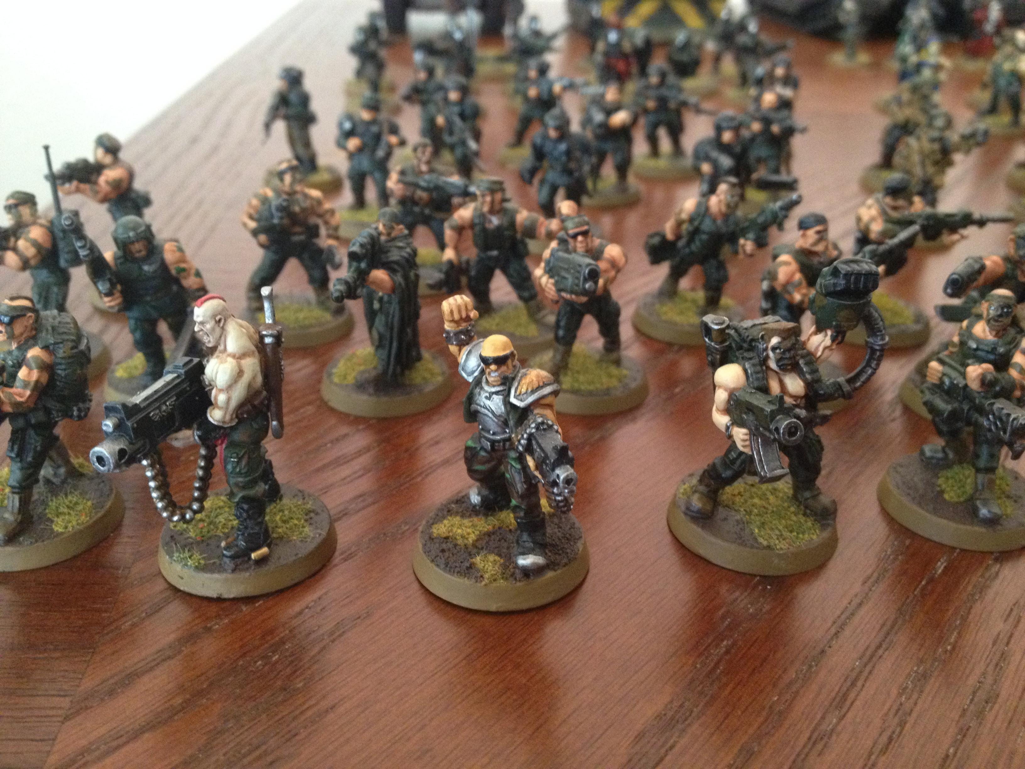 2nd Edition, Catachan, Imperial Guard