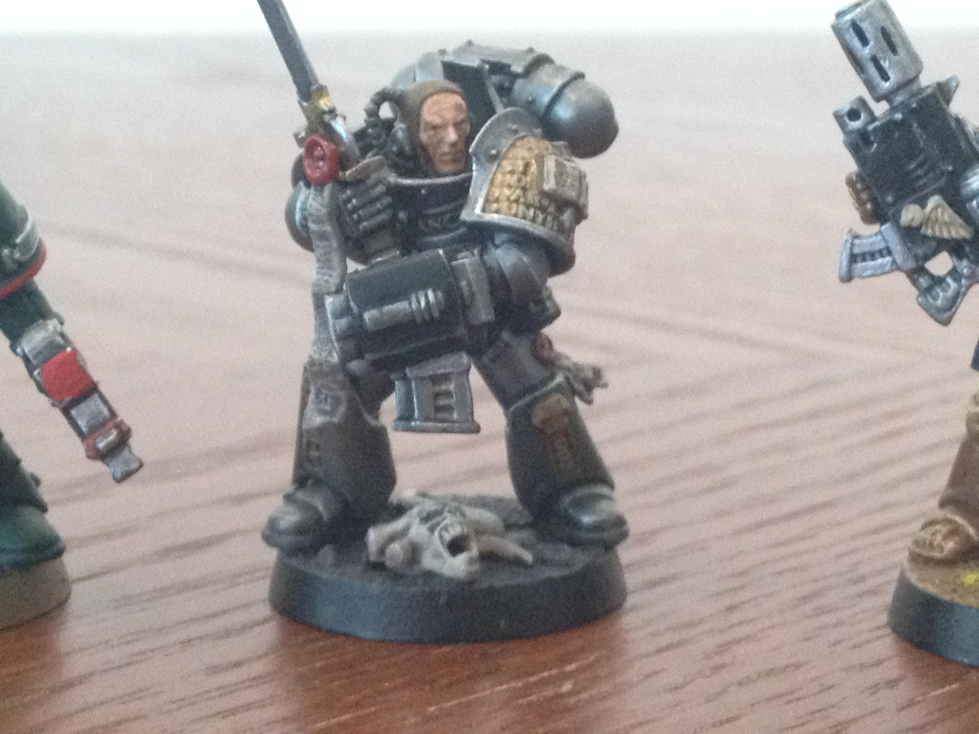 Grey Knights, Metalic Armor