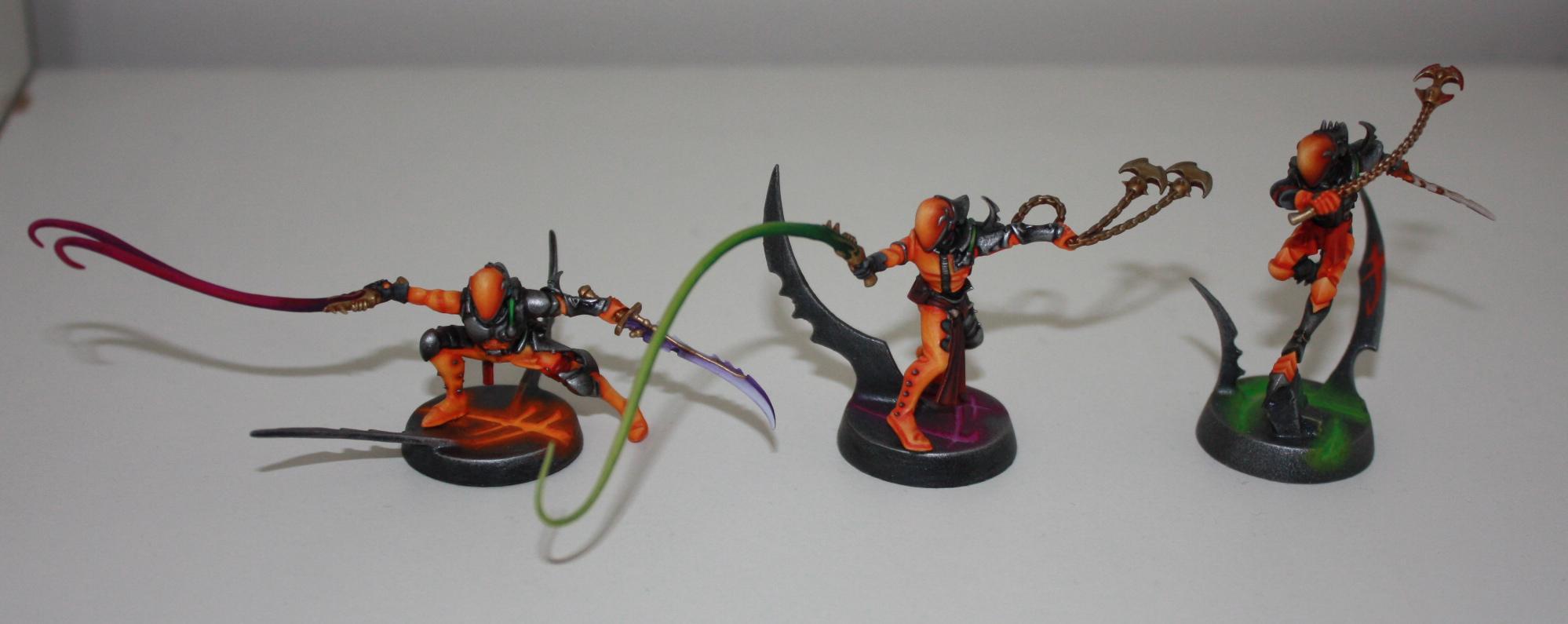 Corsairs, Dark Eldar, Eldar, Wych