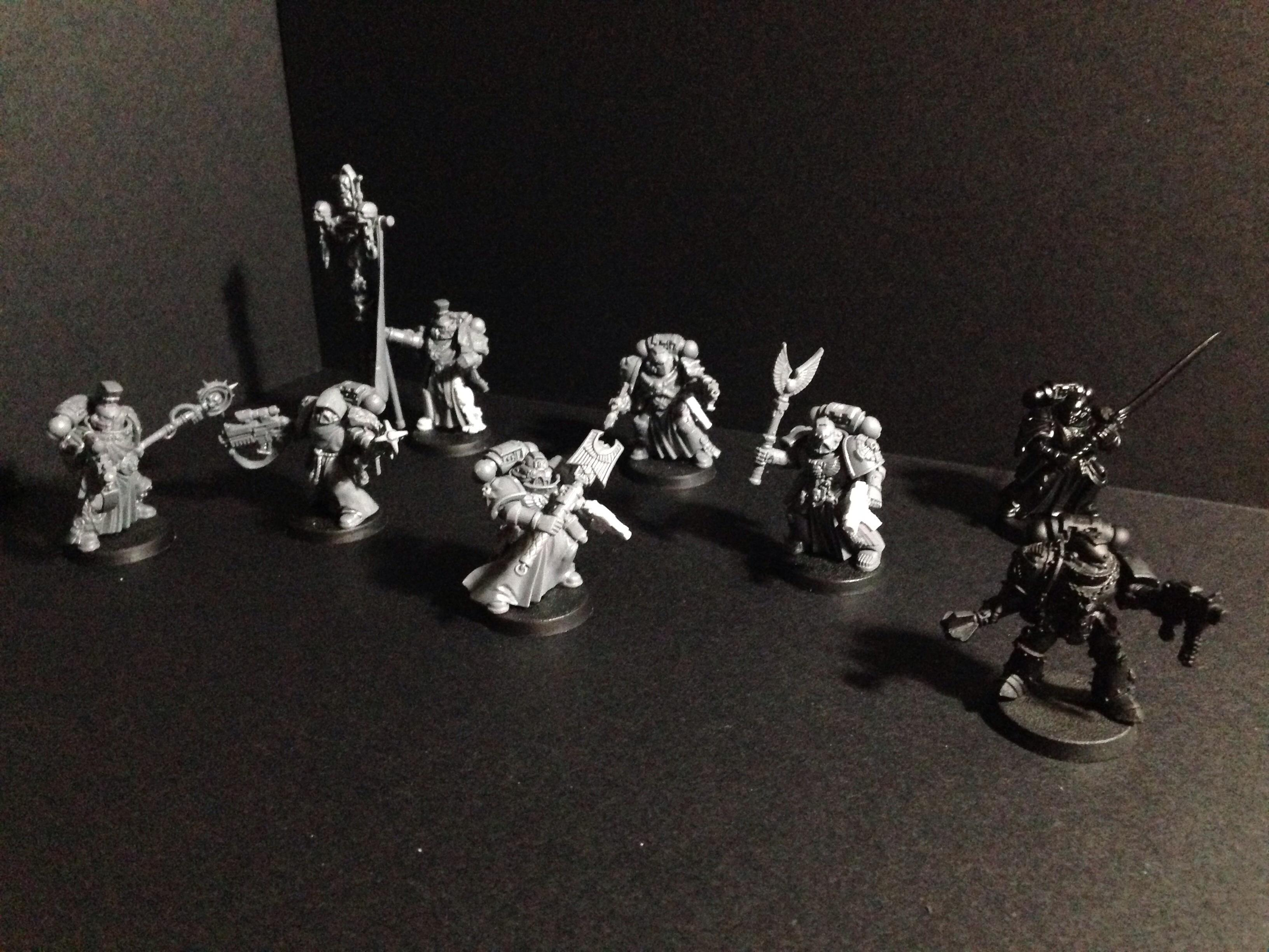Adeptus Astartes, Black Templars, Honor Guard, Space Marines
