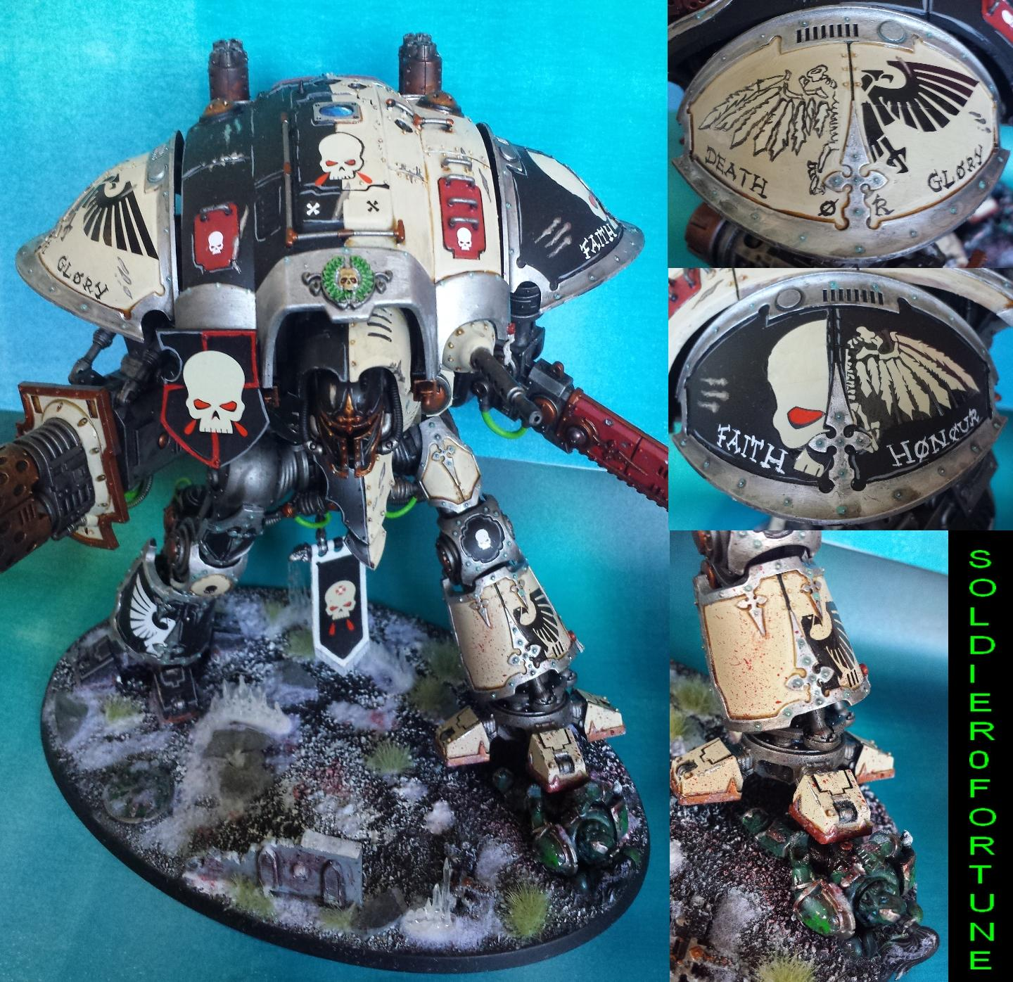 Alpha Legion, Freeblade, Imperial Knight