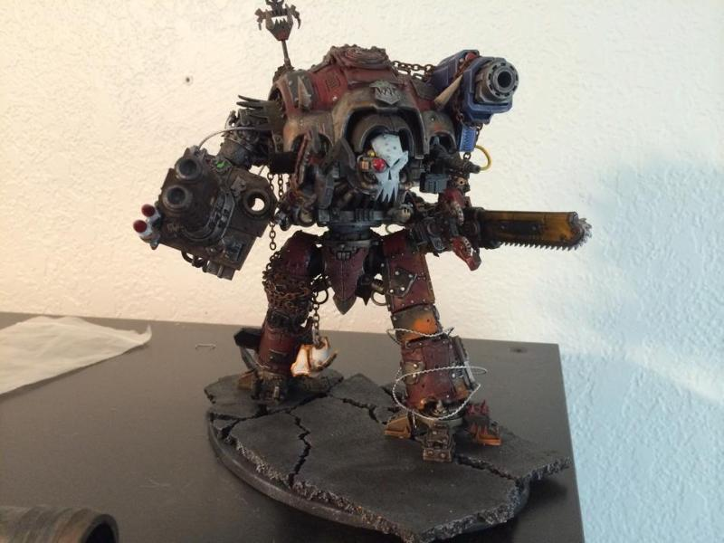 Conversion, Imperial Knight, Orks, Warhammer 40,000