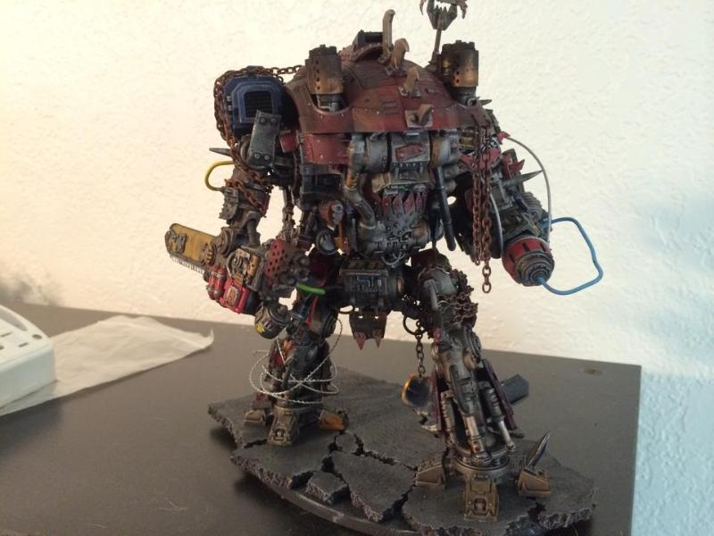 Conversion, Imperial Knight, Orks