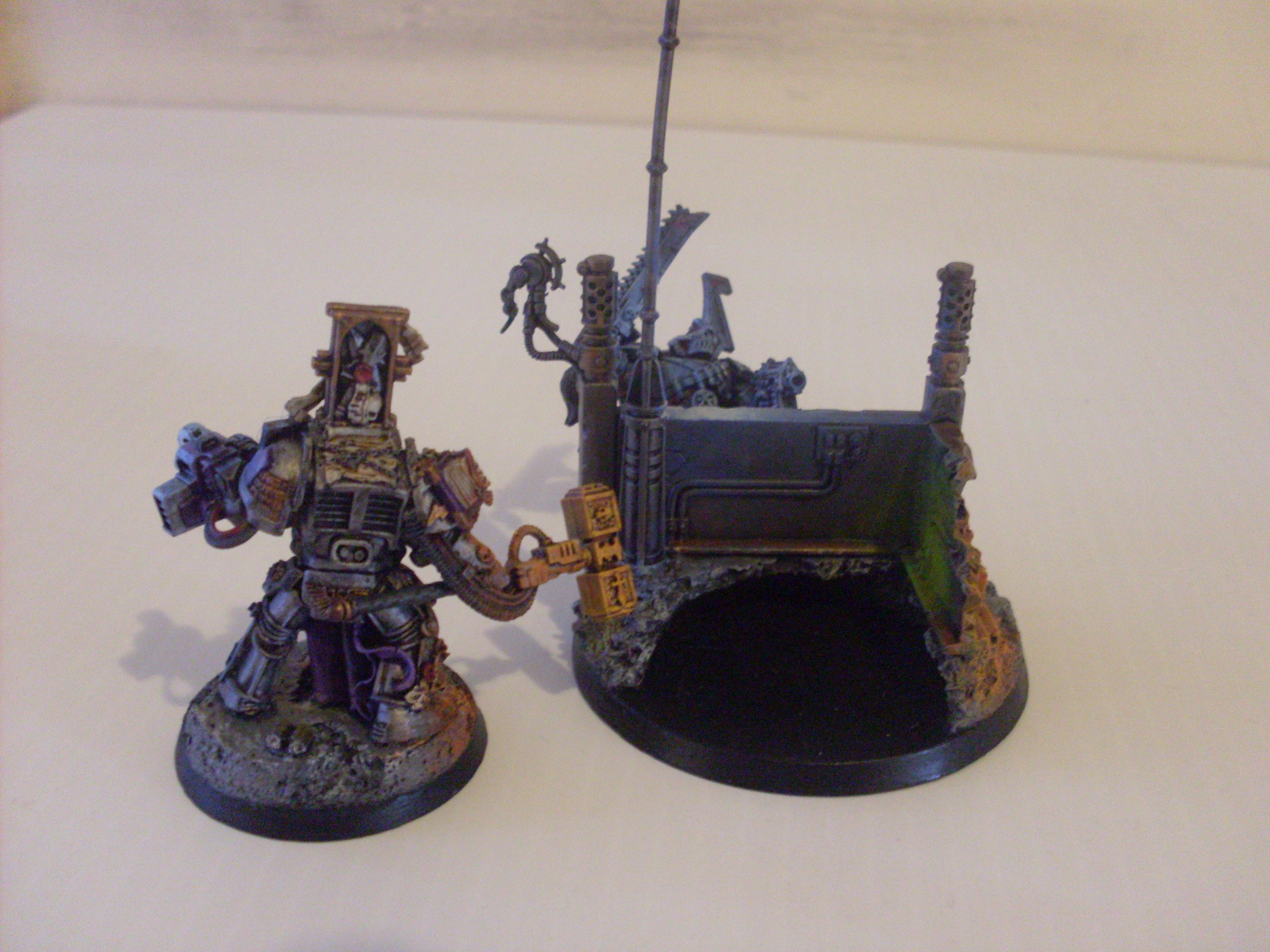 Army, Berserkers, Chaos, Combi-melta, Diaorama, Grey Knights, Guard, Hellbrute, Imperial, Imperial Knight, Inquisitor, Khorne, Rust Effect, Source Lighting, Space Marines, Stripes, Super-heavy, Terminator Armor, Titan, Vehicle, Walker, Weathered, World Eaters