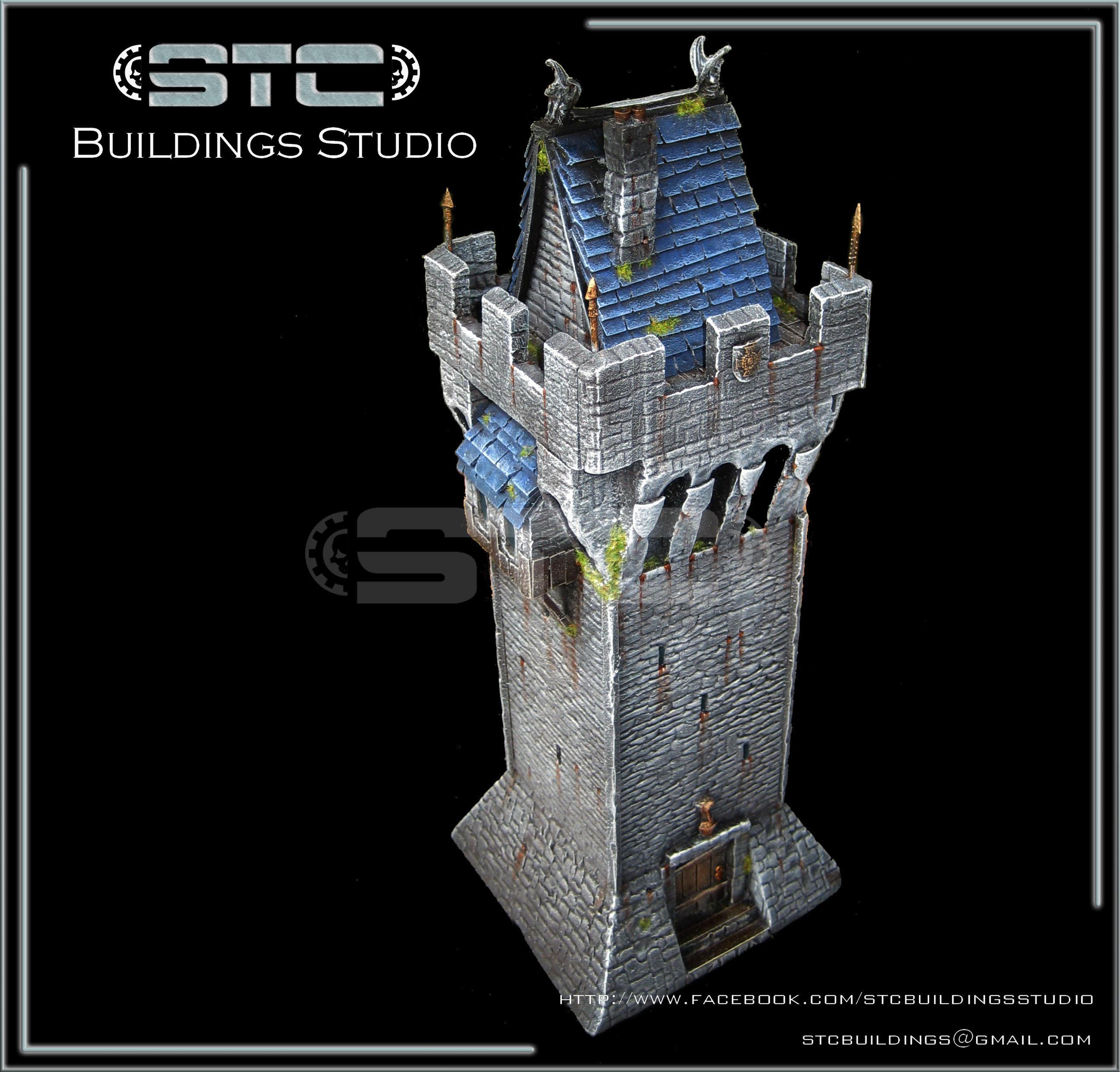 Empire, Tower, Warhammer Fantasy, Watchtower