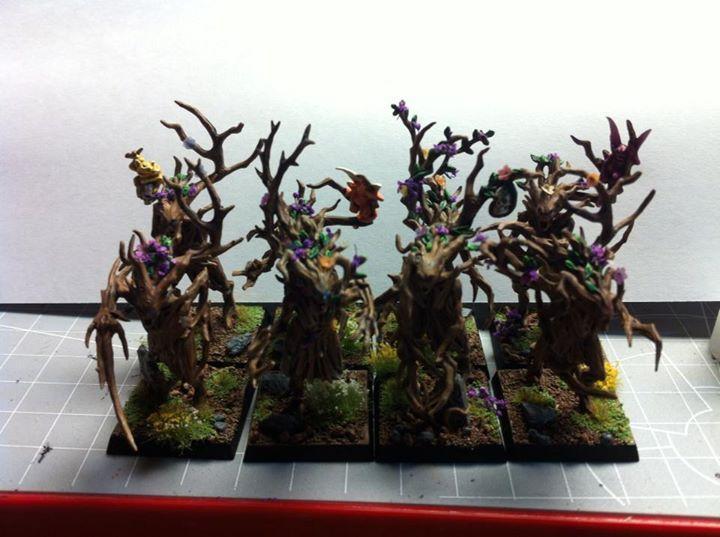 Dryads, Elves, Trees, Wood