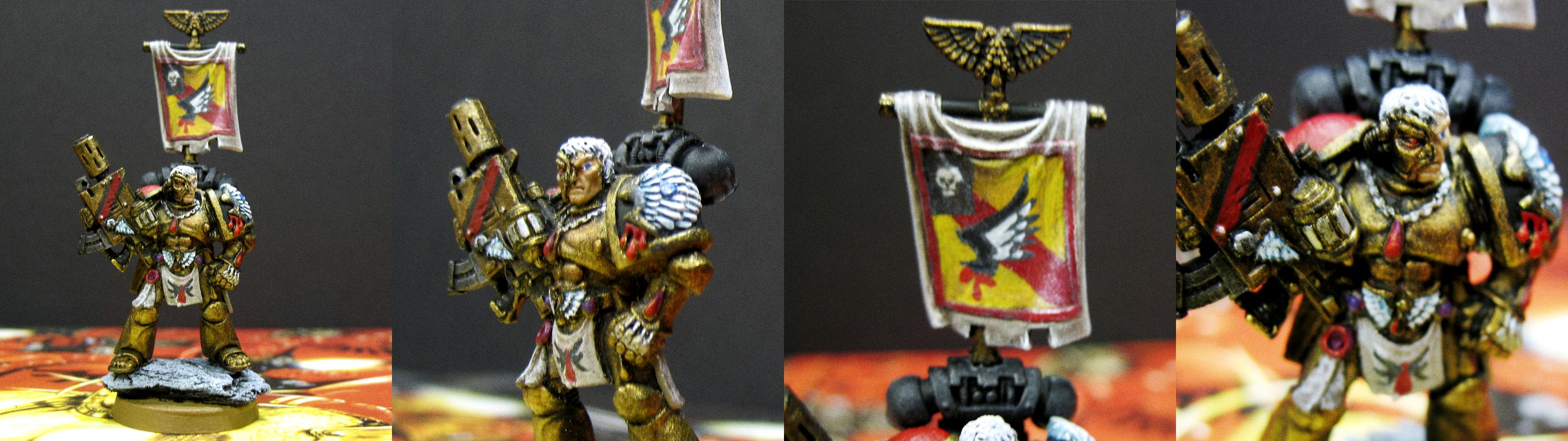 Blood Angels, Blood Song, Captain, Character, Death Company, Headquarters, Third Company, Tycho