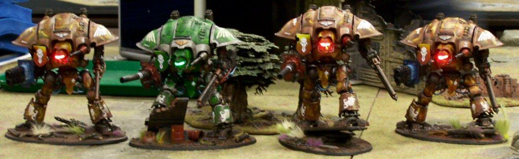 Army, Imperial Knights, Leds, Throne Of Skulls, Tos