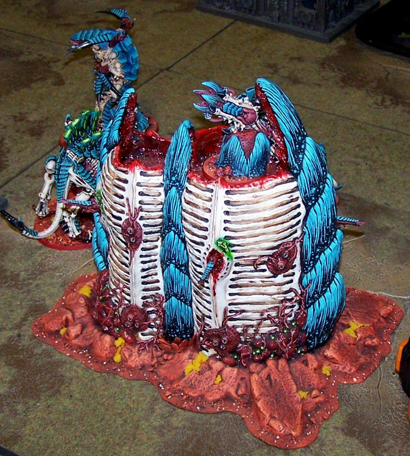 Army, Bastion, Conversion, Nids, Scratch Build, Throne Of Skulls, Tos, Tyranids