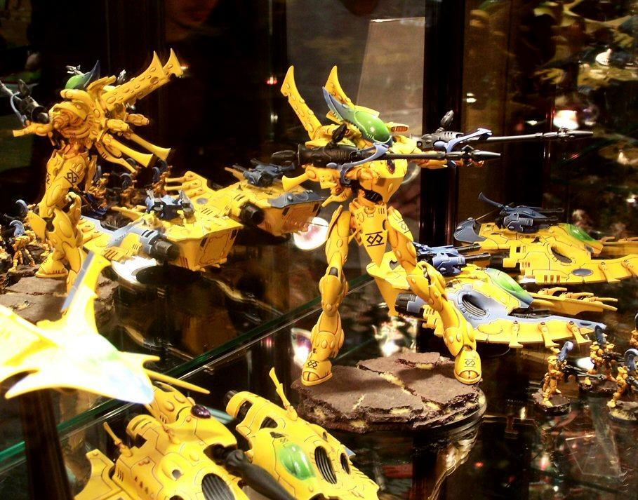 Airbrush, Army, Eldar, Throne Of Skulls, Tos, Yellow