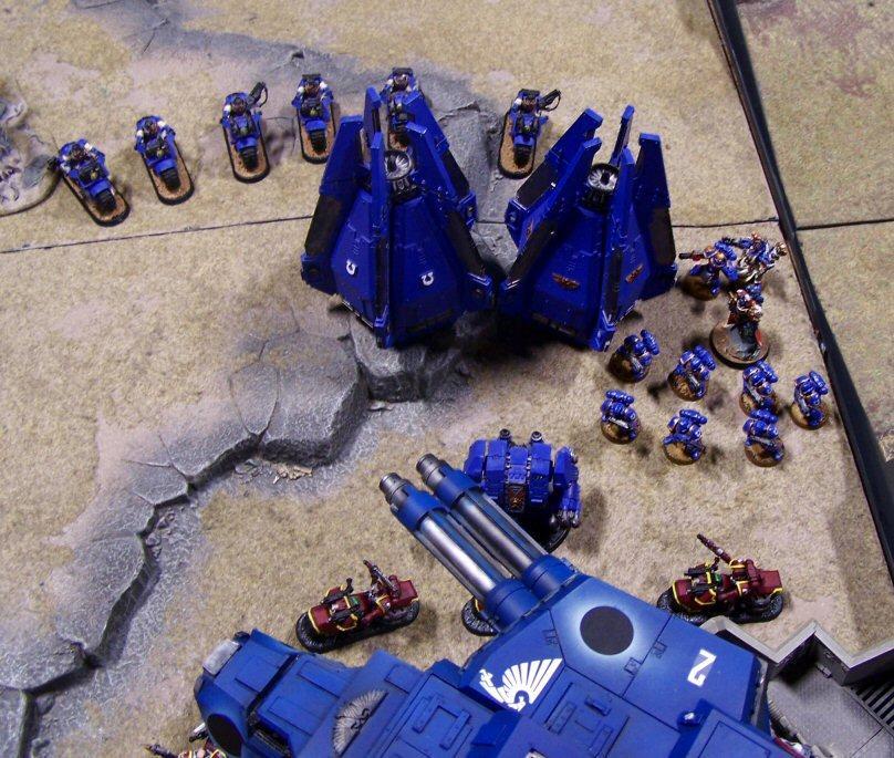 Emperor's Wings, Games, Throne Of Skulls, Titan, Ultra Marines, Warhound, Warp Runners