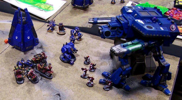 Dreadnought, Emperor's Wings, Games, Throne Of Skulls, Titan, Warhound, Warp Runners