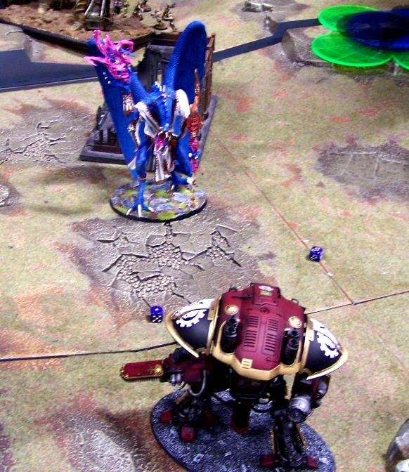 Emperor's Wings, Games, Greater Daemon Of Tzeench, Imperial Knight, Throne Of Skulls