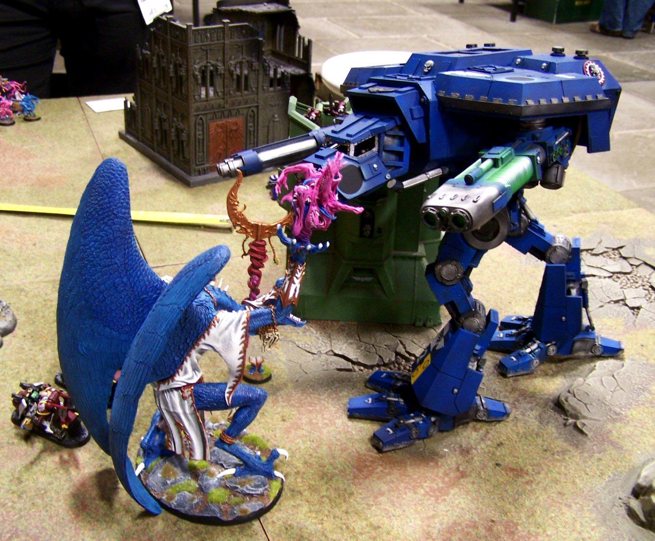 Emperor's Wings, Games, Greater Daemon Of Tzeench, Throne Of Skulls, Warhound, Warp Runners