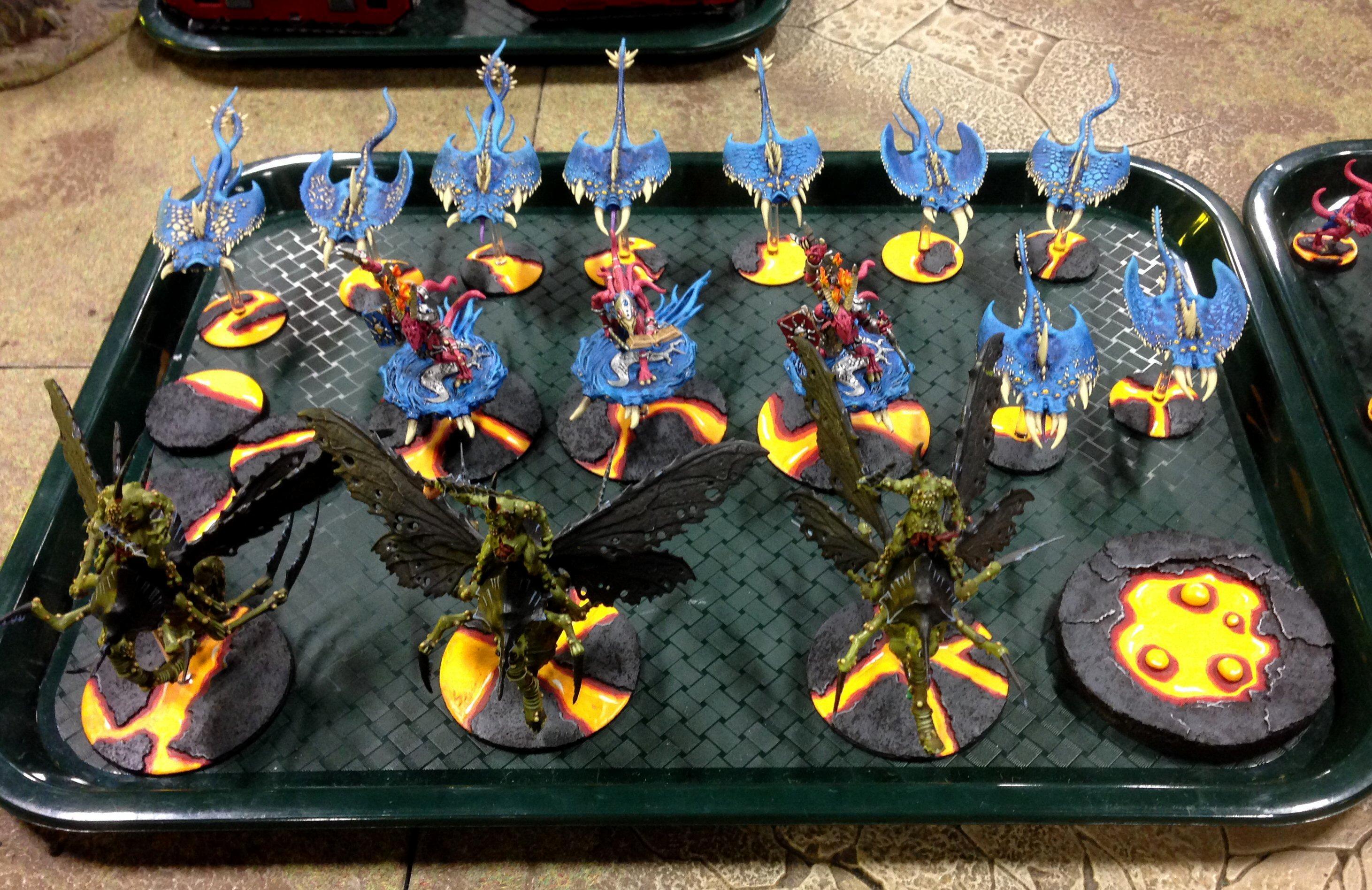 Army, Chaos, Nurgle, Throne Of Skulls, Tos, Tzeench