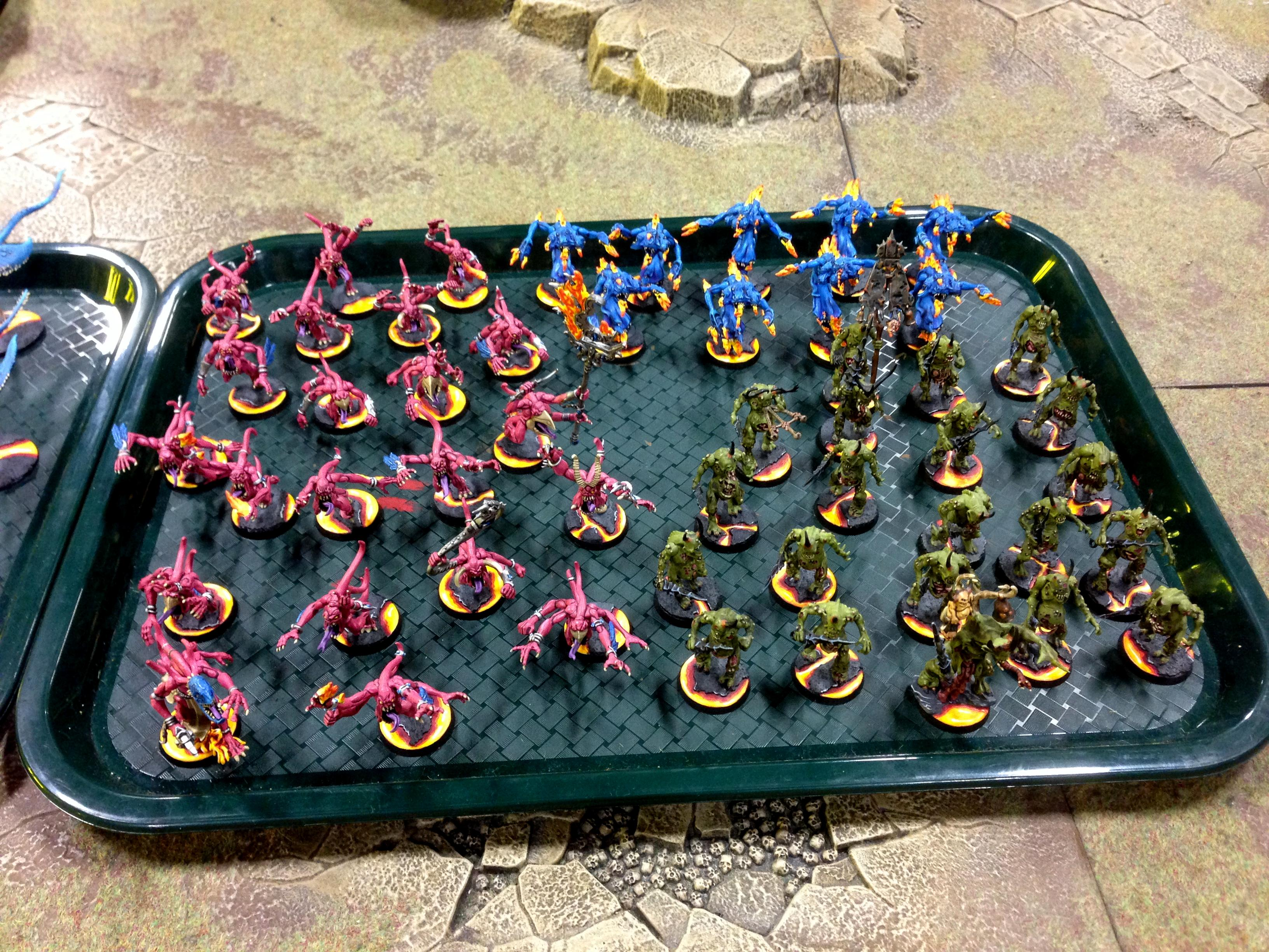 Army, Chaos, Nurgle, Throne Of Skulls, Tos, Tzeench