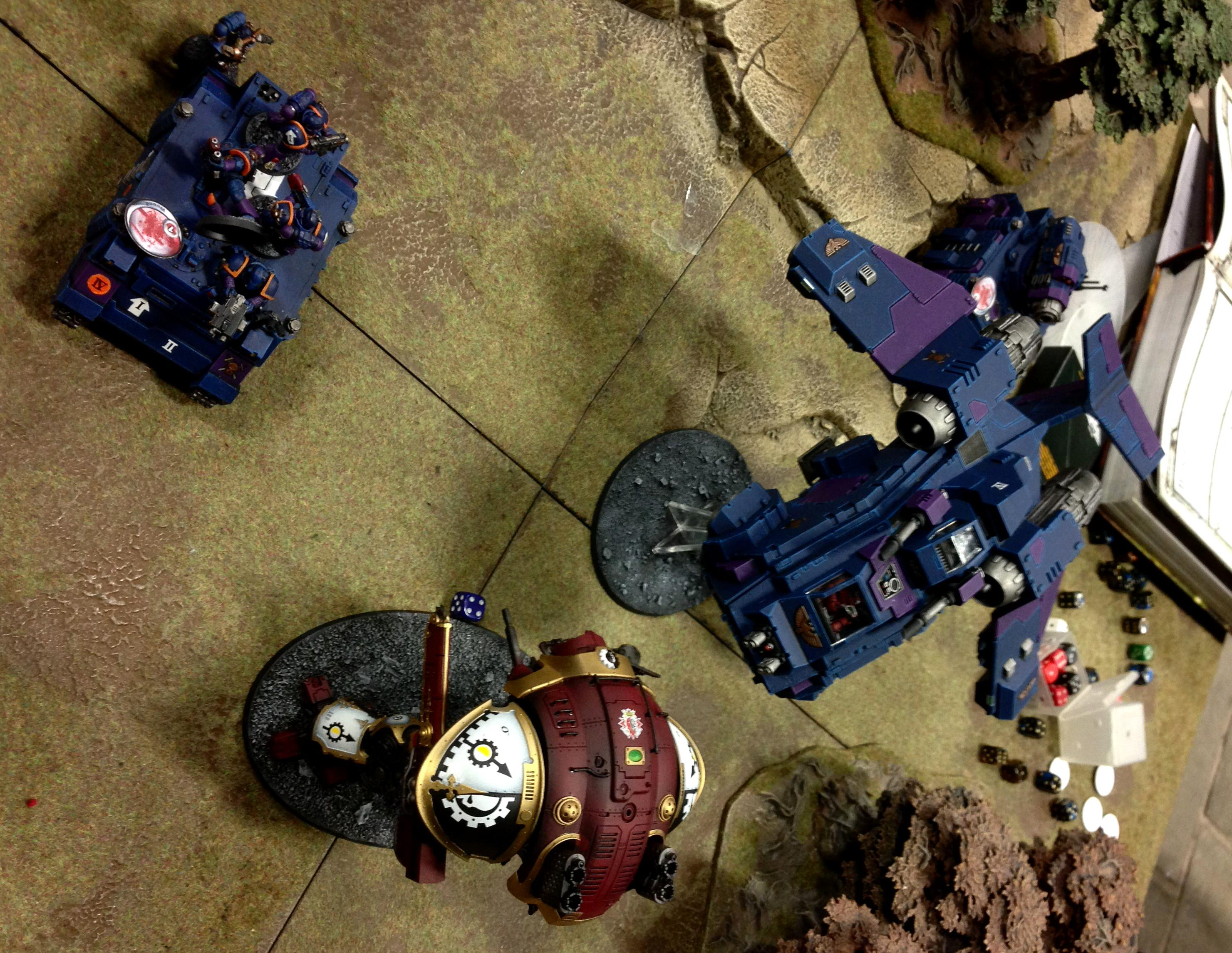 Army, Imperial Knight, Storm Raven, Throne Of Skulls, Tos
