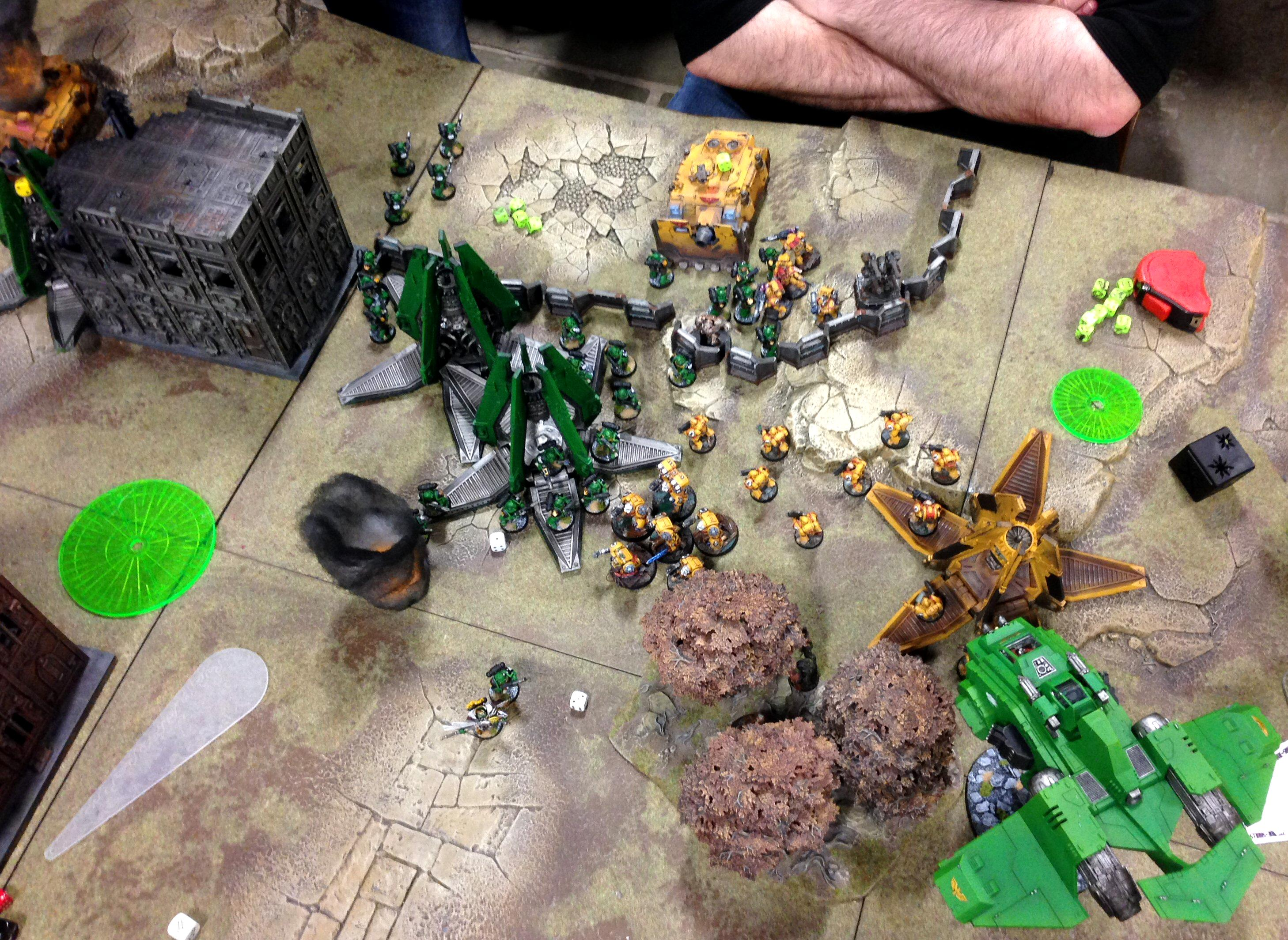 Army, Imperial Fists, Salamanders, Space Marines, Throne Of Skulls, Tos