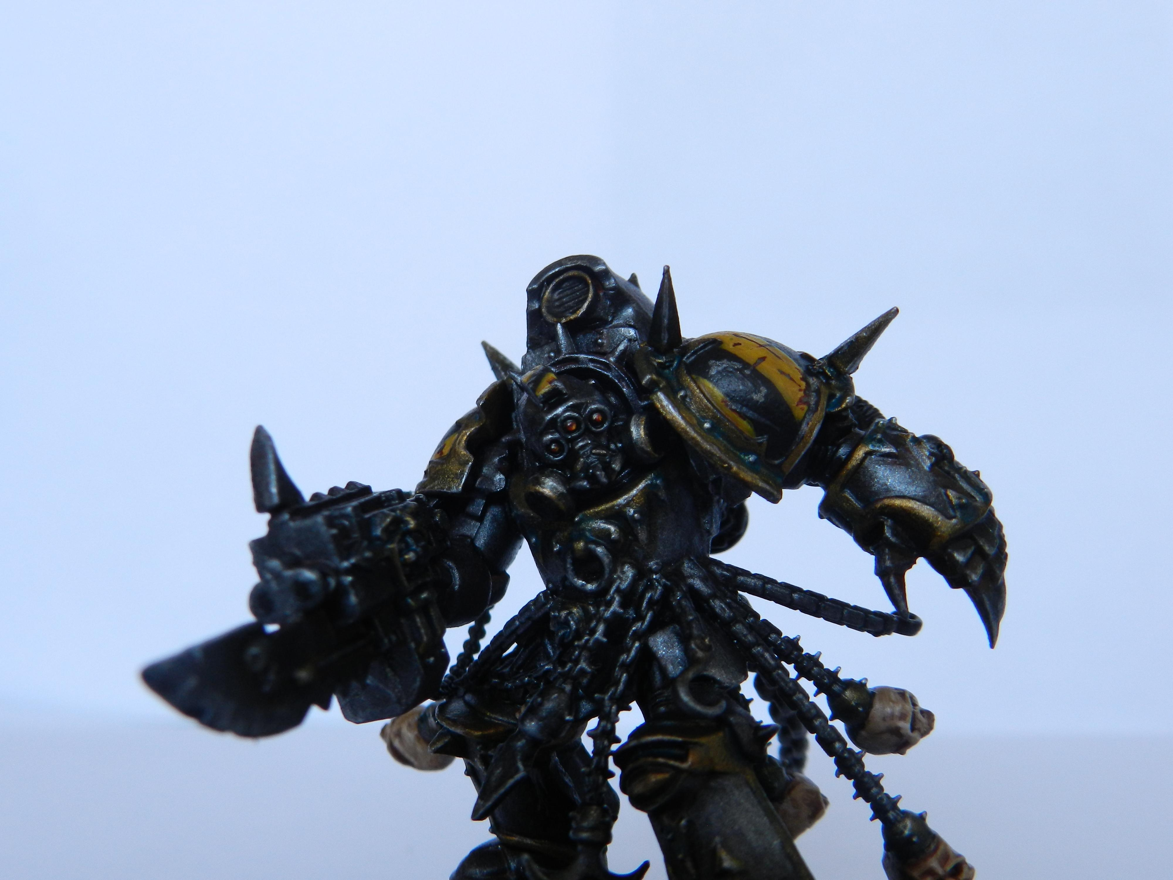 Chaos, Chaos Lord, Chaos Space Marines, Iron Warriors, Lord, Terminator Armor