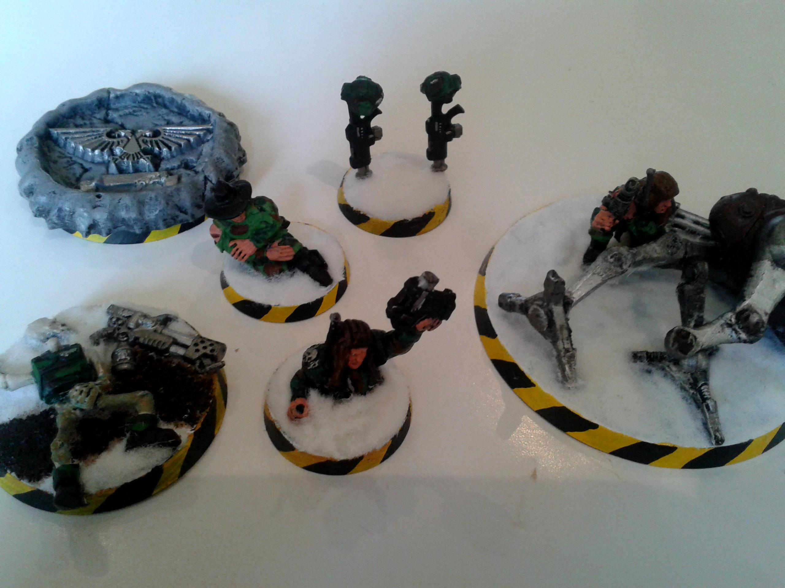 4ok, Imperial Guard, Objective Marker