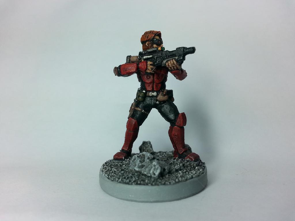Deadzone, Human, Mantic, Rebels, Rebs