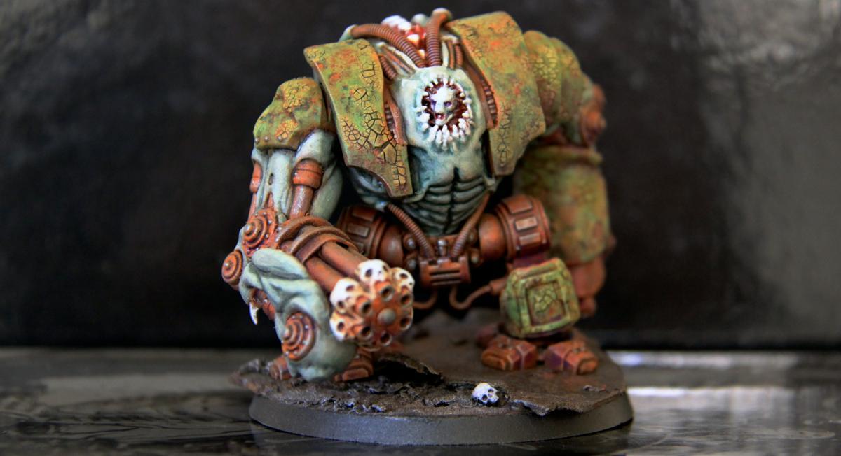 Chaos, Hellbrute, Nurgle, Warhammer 40,000