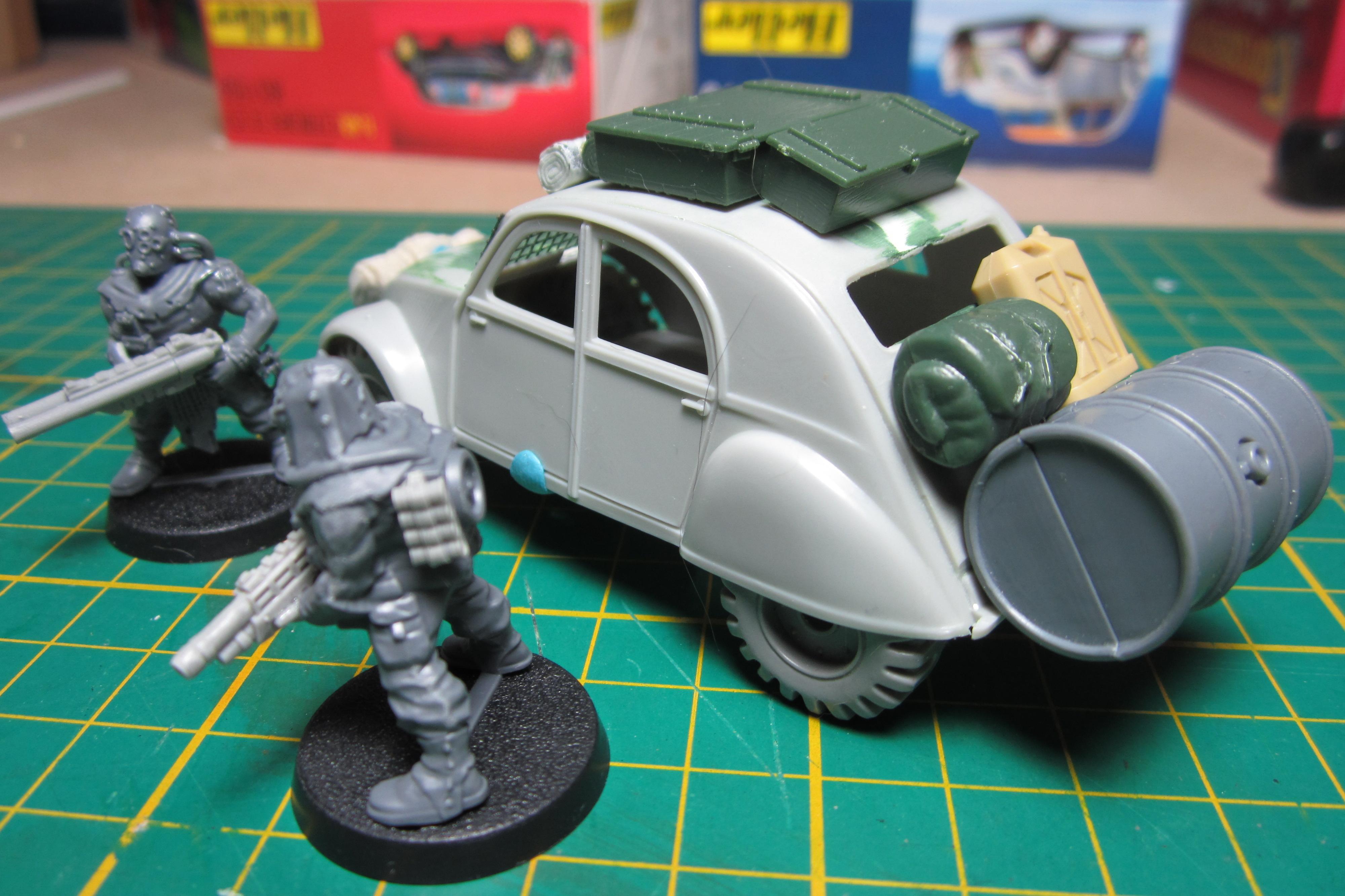 Cars, Civilian, Conversion, Gorka Morka, Imperial, Iom, Vehicle, Warhammer 40,000