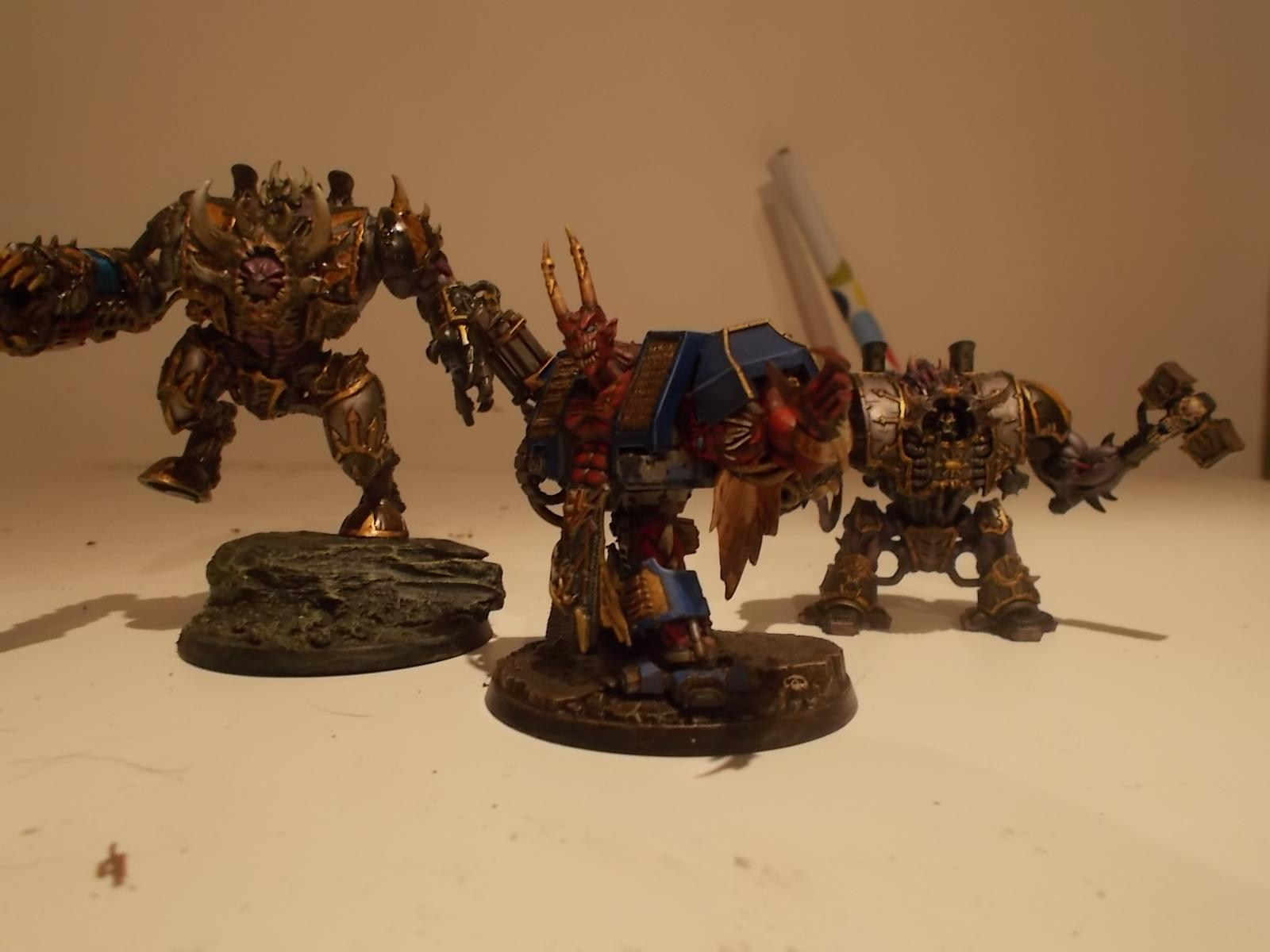 helbrute group shot, with m'kar