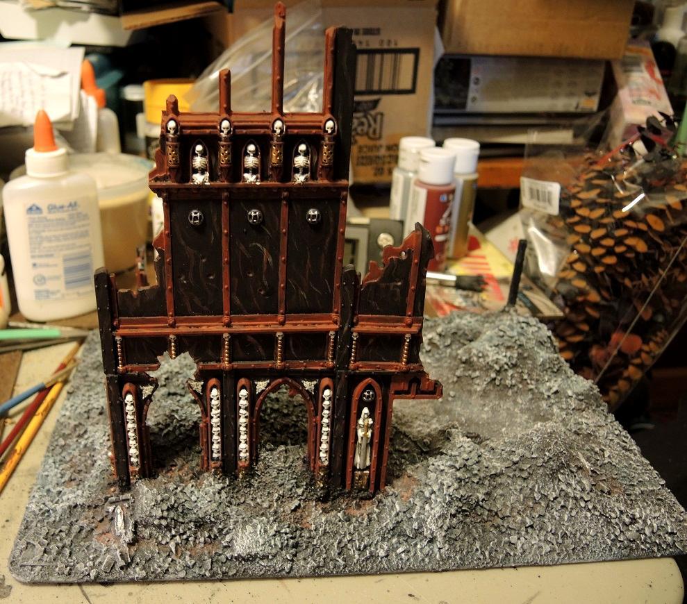 Administratum, Base Coat, Commission, Details, Sealing Coat, Terrain, Warhammer 40,000