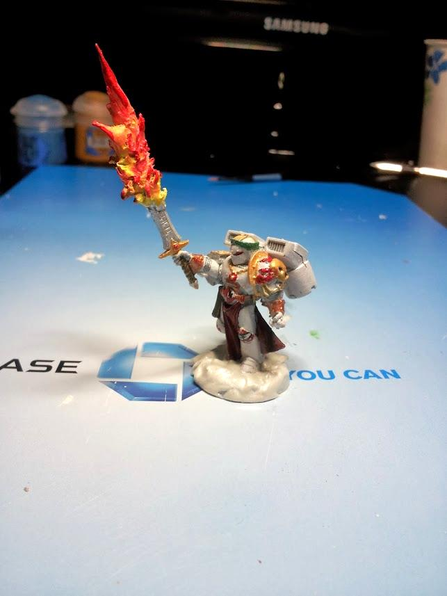 Burning Blade, Captain, Fire, Space Marines