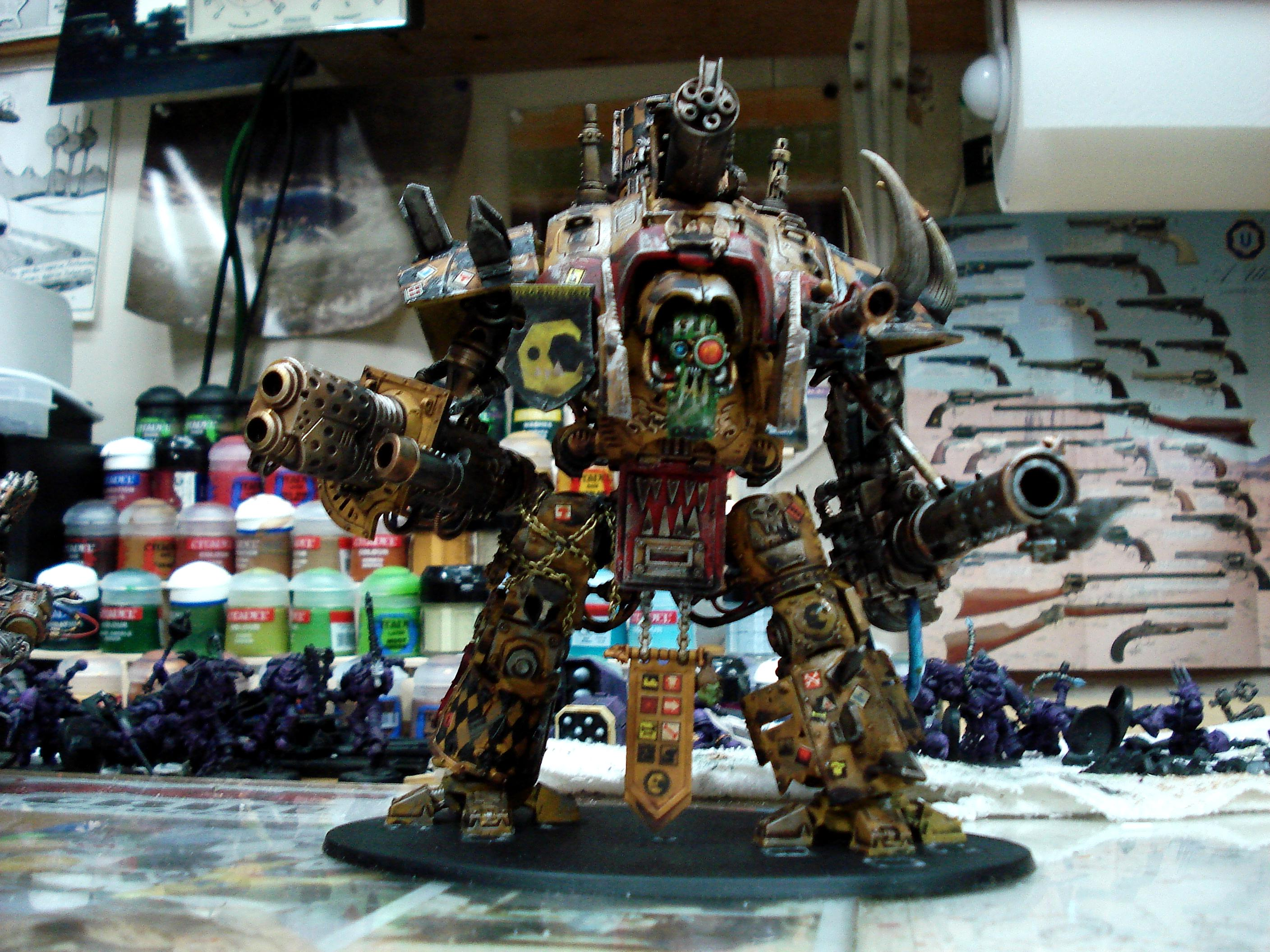 Deff, Dreadnought, Imperial, Knights, Orks, Stompa, Walker