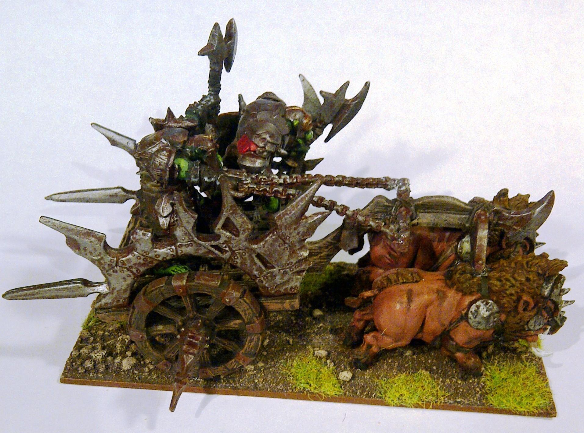 Chariot, Kings Of War, Mantic, Orcs