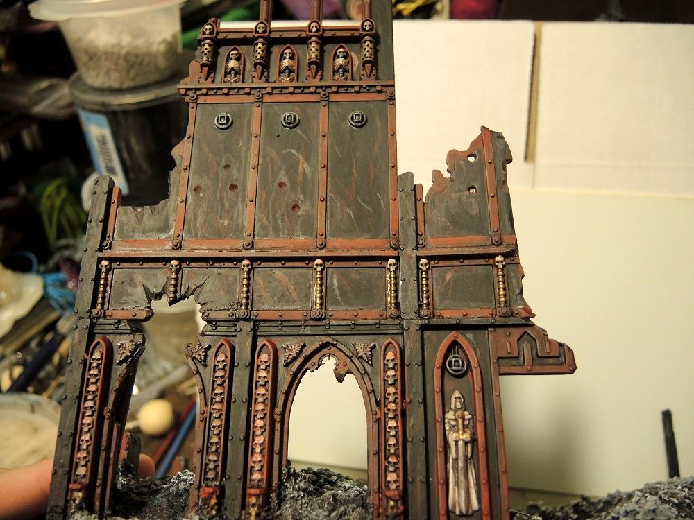 Administratum, Astartes Plinth, Base Coat, Commission, Details, Sealing Coat, Terrain, Warhammer 40,000